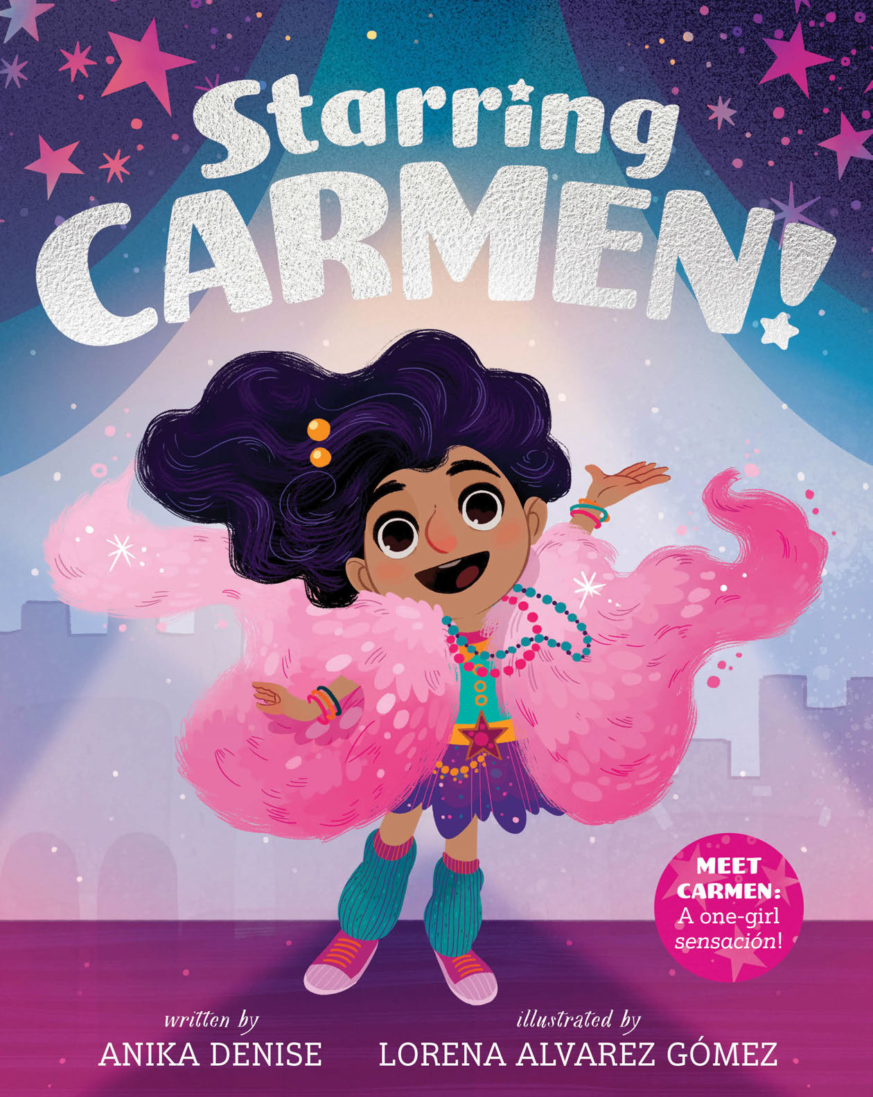 Cover image for Starring Carmen! [electronic resource] :