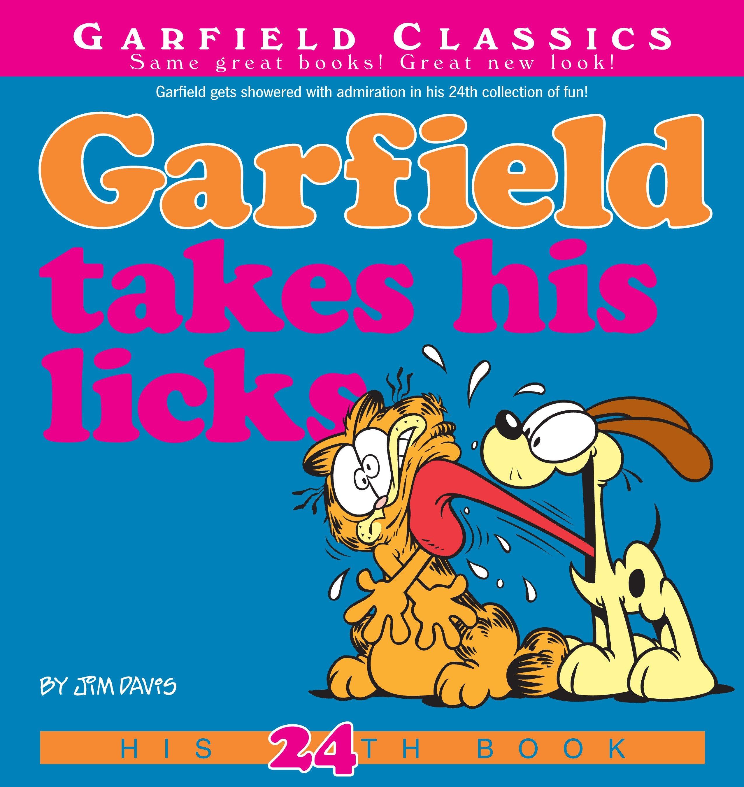 Garfield Takes His Licks His 24th Book