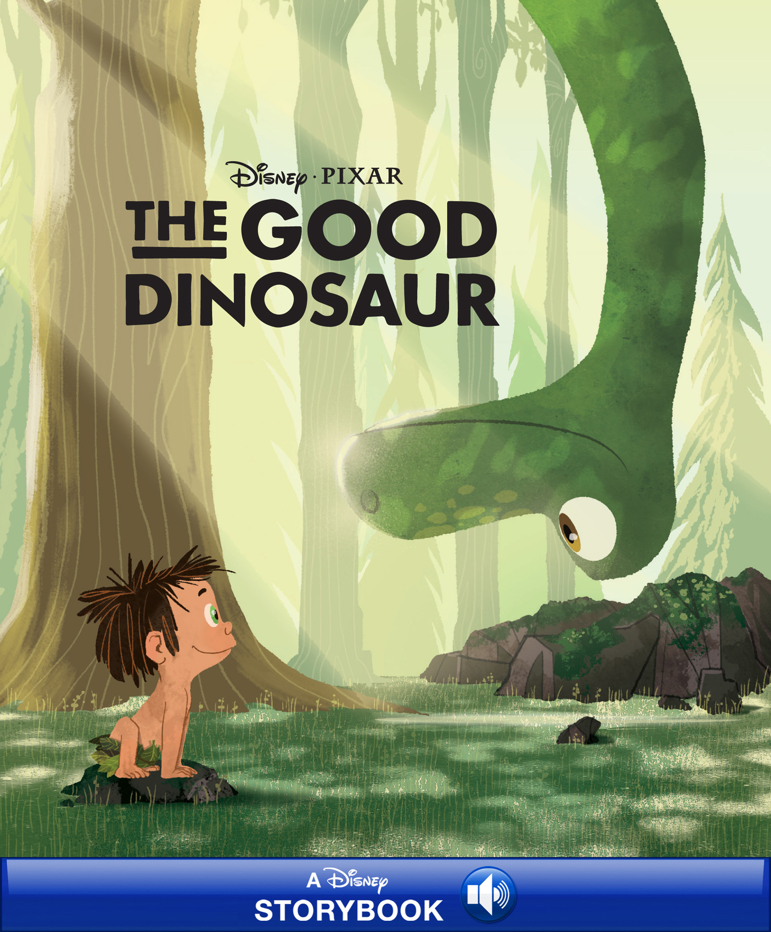 Disney Classic Stories: The Good Dinosaur A Disney Storybook with Audio
