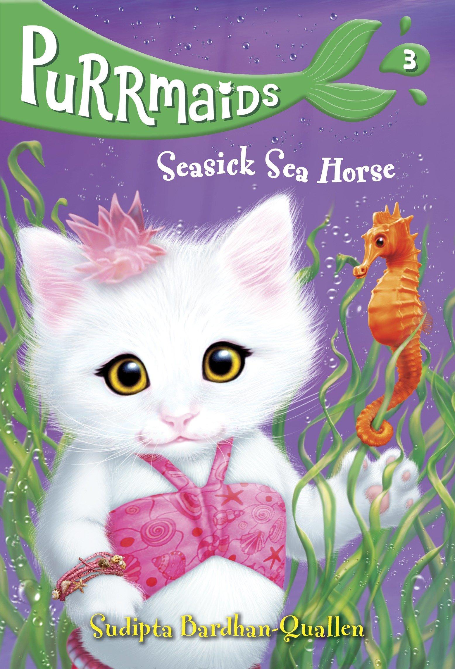 Cover Image of Purrmaids #3: Seasick Sea Horse