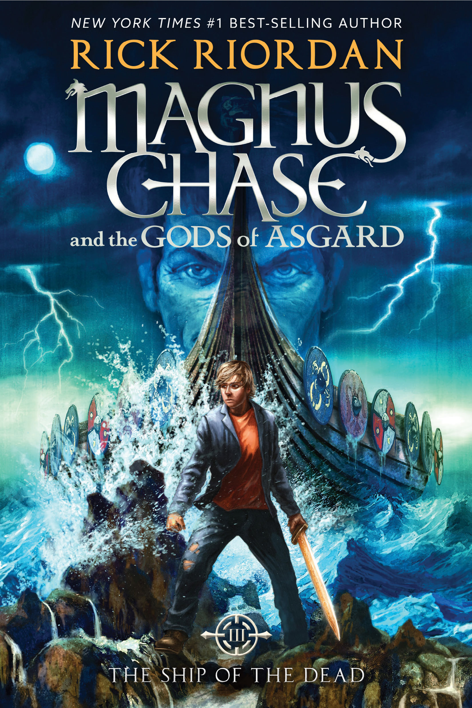 Cover Image of Magnus Chase and the Gods of Asgard, Book 3: The Ship of the Dead