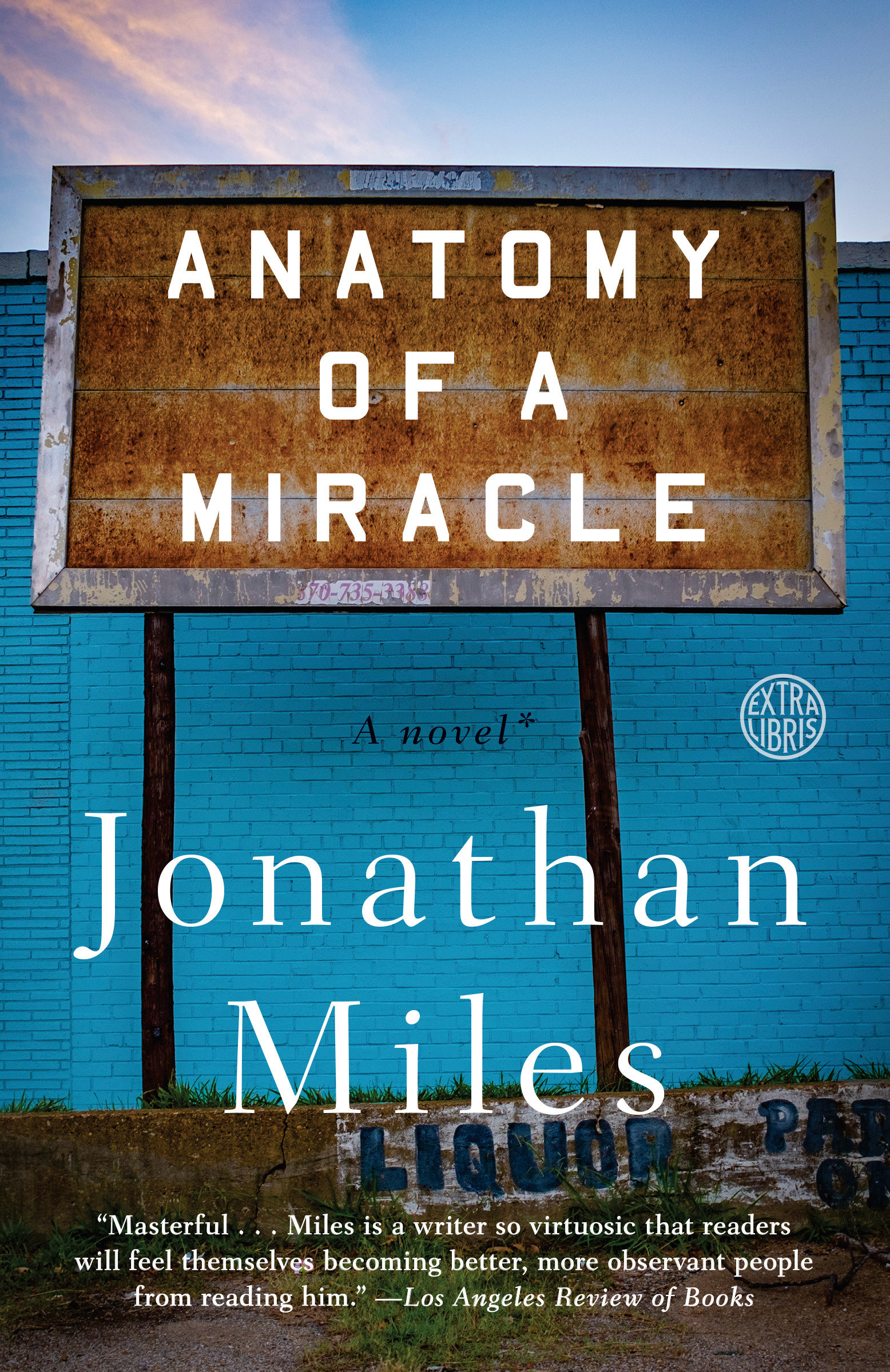 Anatomy of a miracle cover image