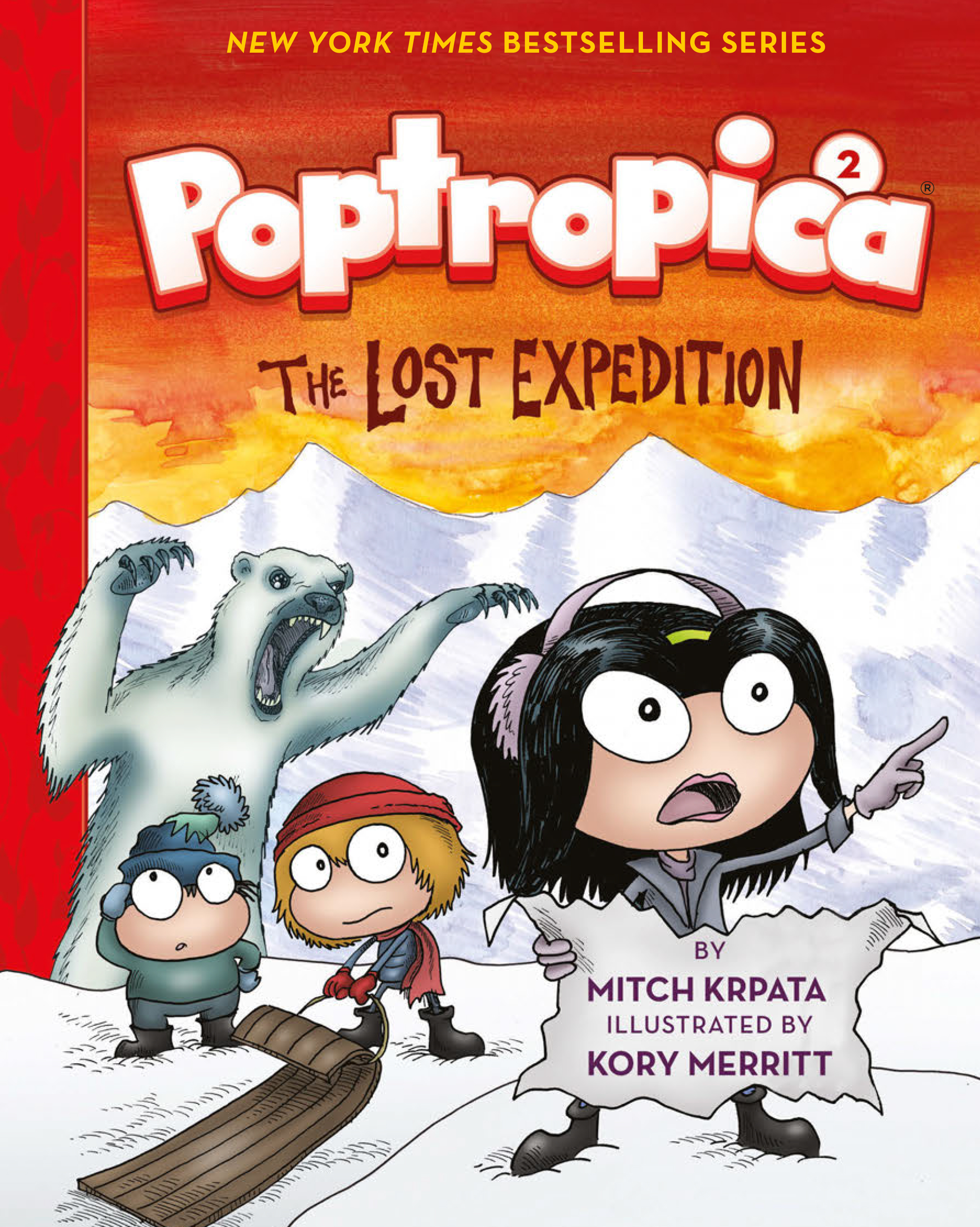 Cover Image of The Lost Expedition (Poptropica Book 2)