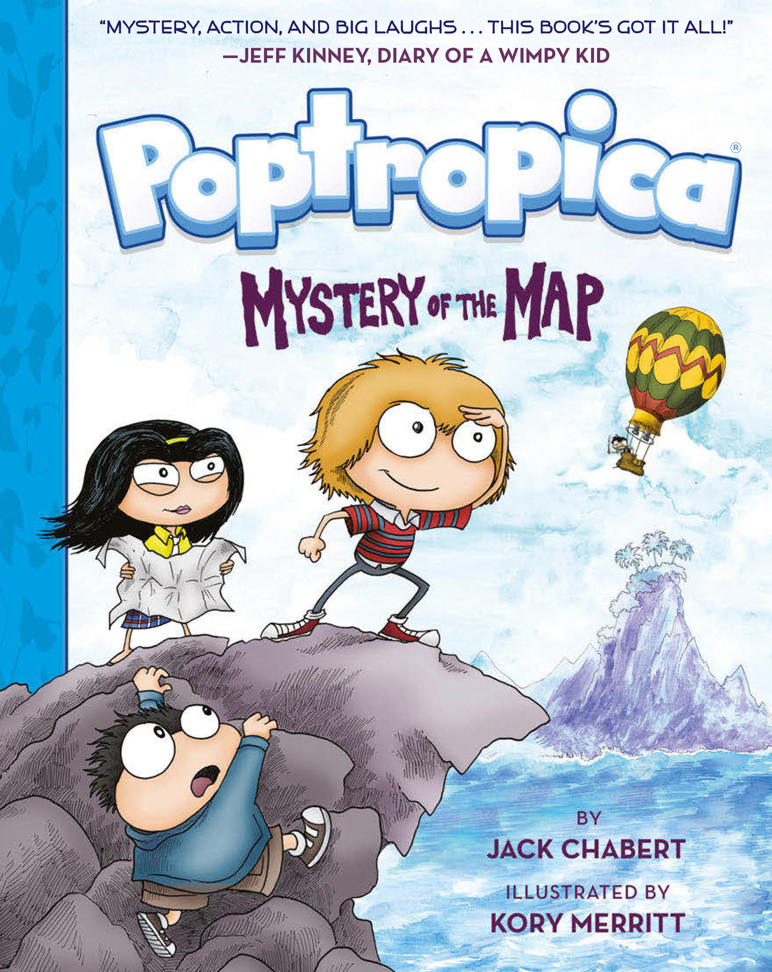 Cover Image of Mystery of the Map (Poptropica Book 1)
