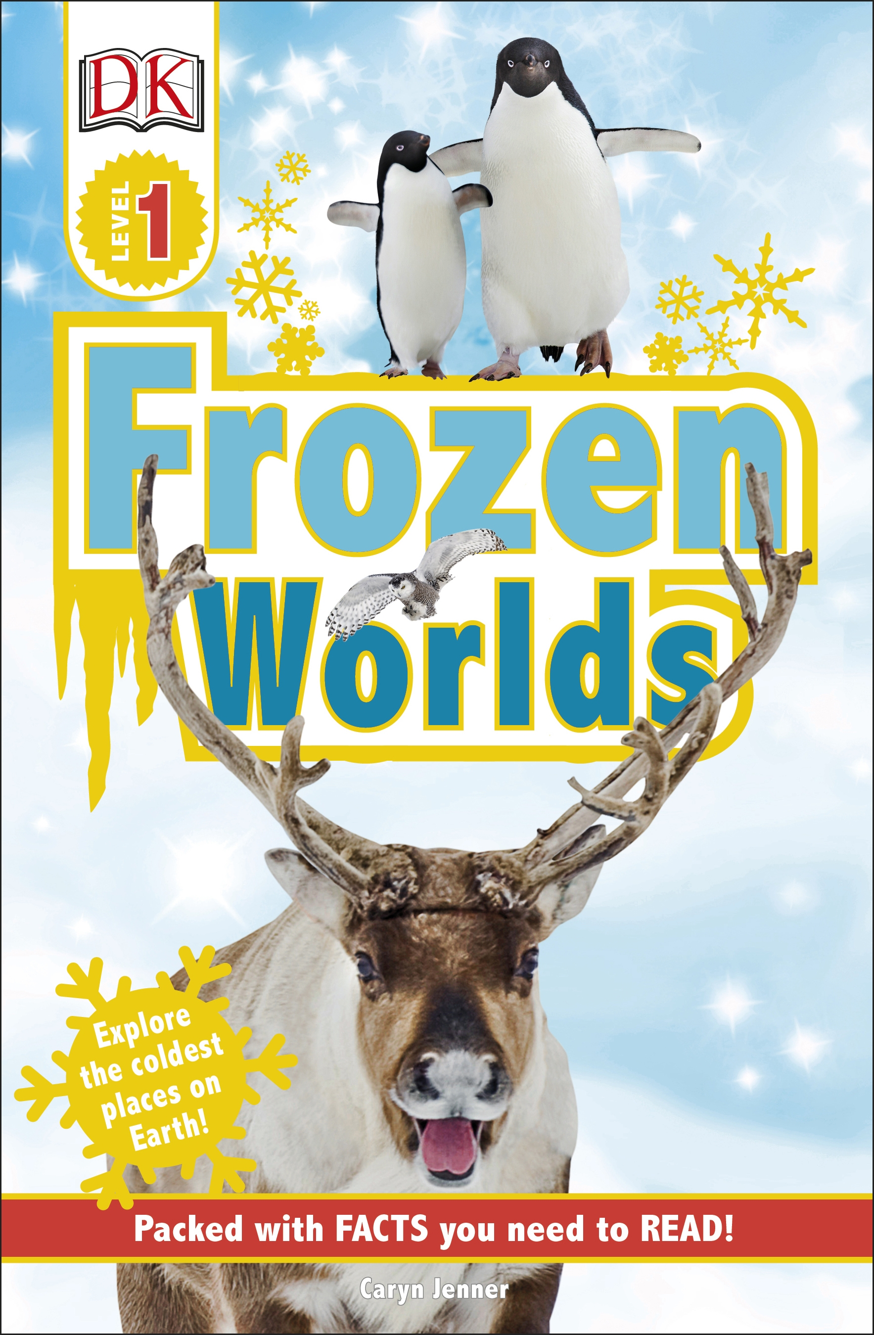 Cover Image of DK Readers L1 Frozen Worlds