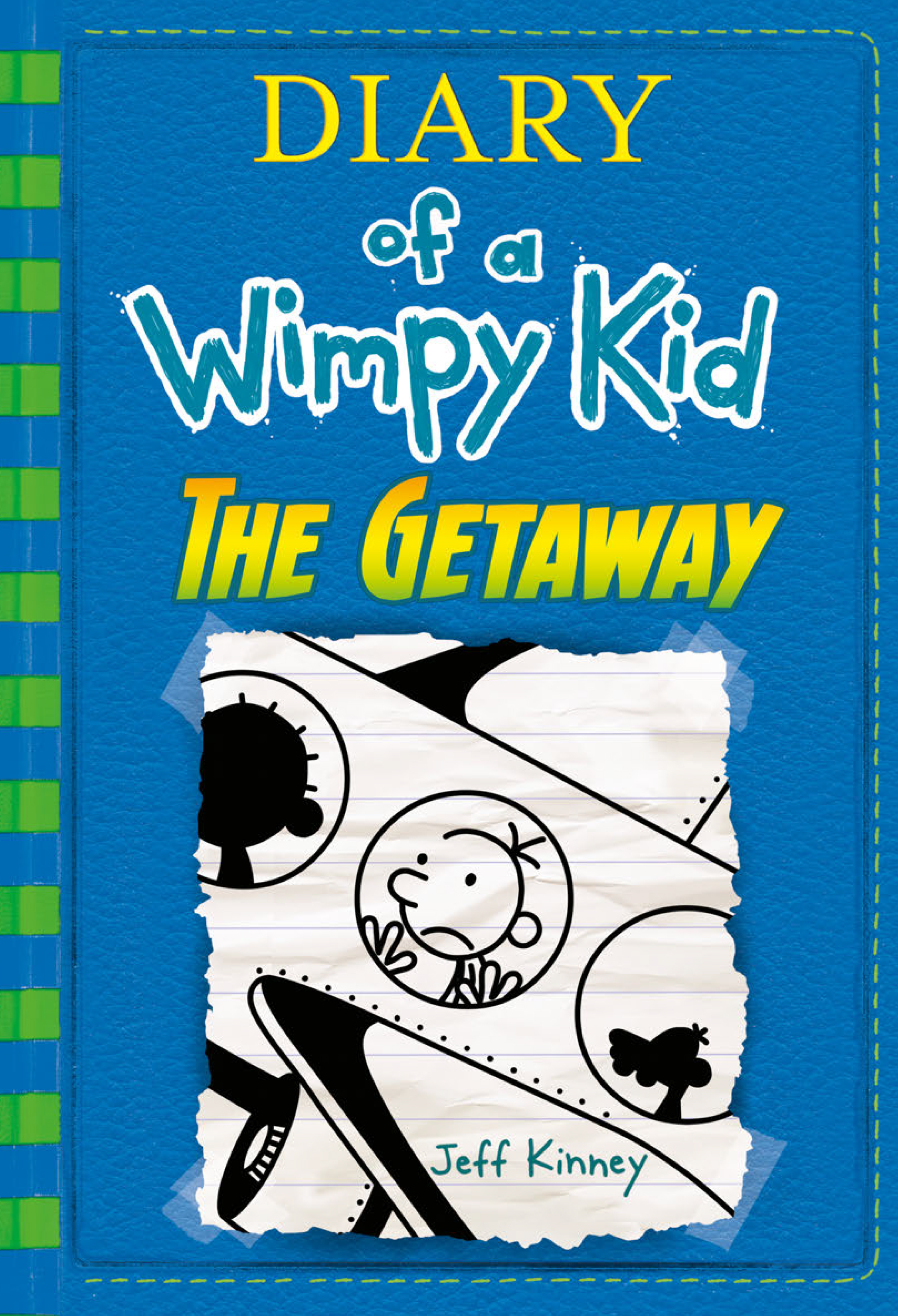 Cover Image of The Getaway (Diary of a Wimpy Kid Book 12)