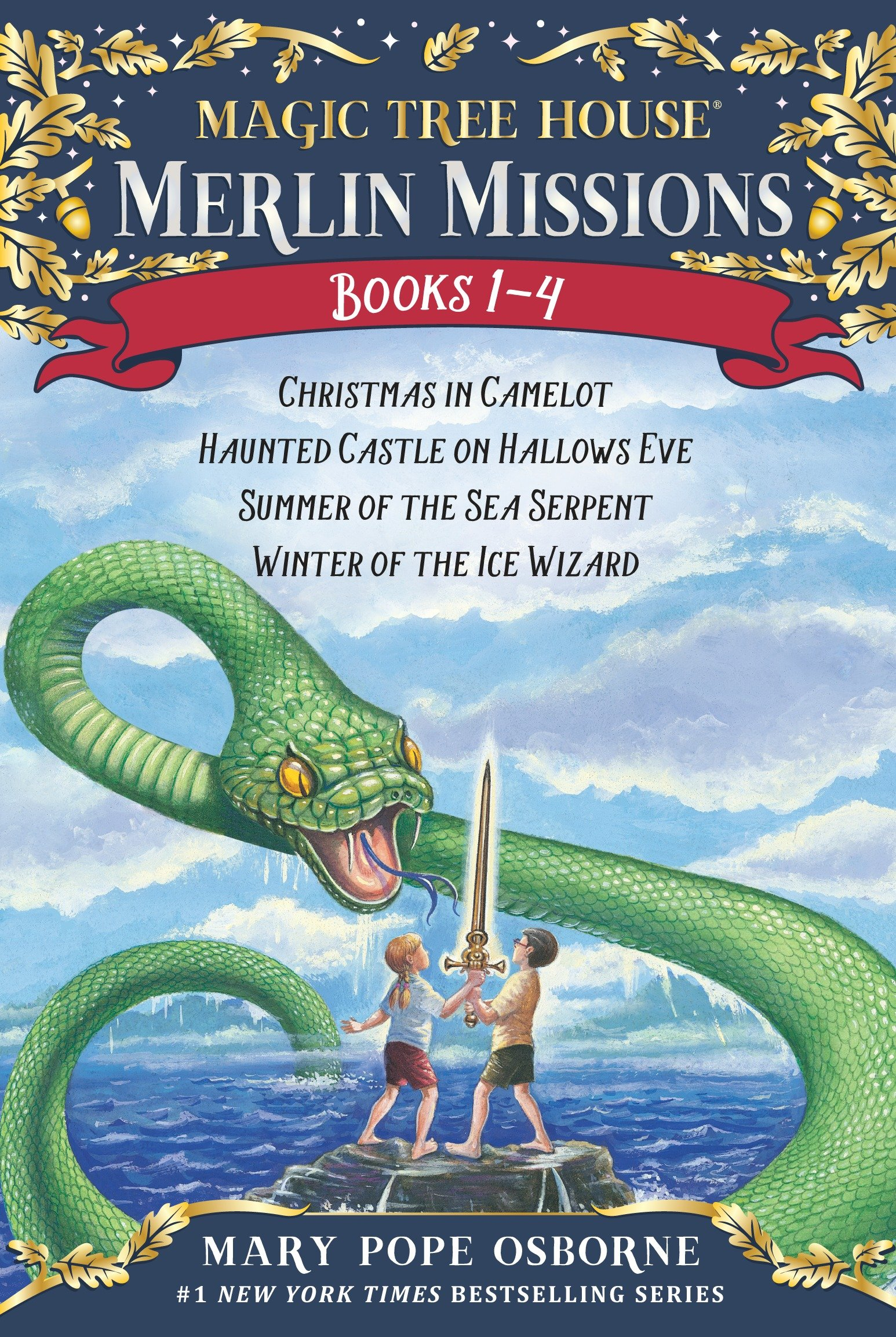 Magic Tree House Merlin Missions 1-4 cover image