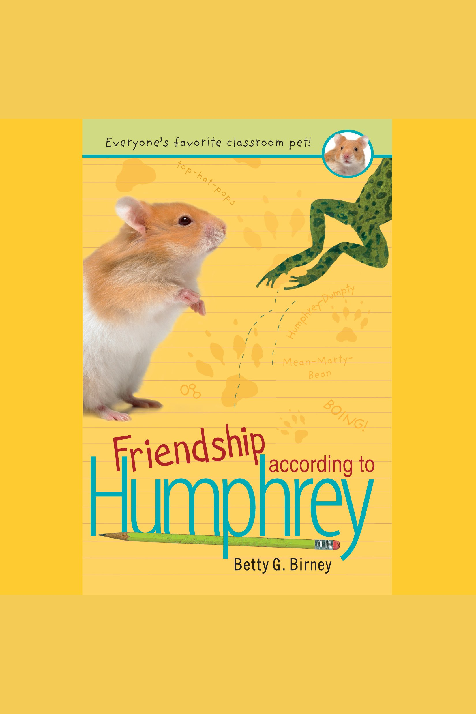 Friendship according to Humphrey cover image