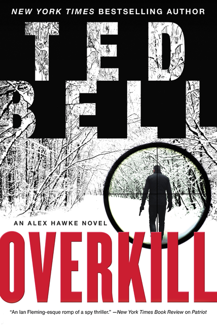 Overkill an Alex Hawke novel cover image