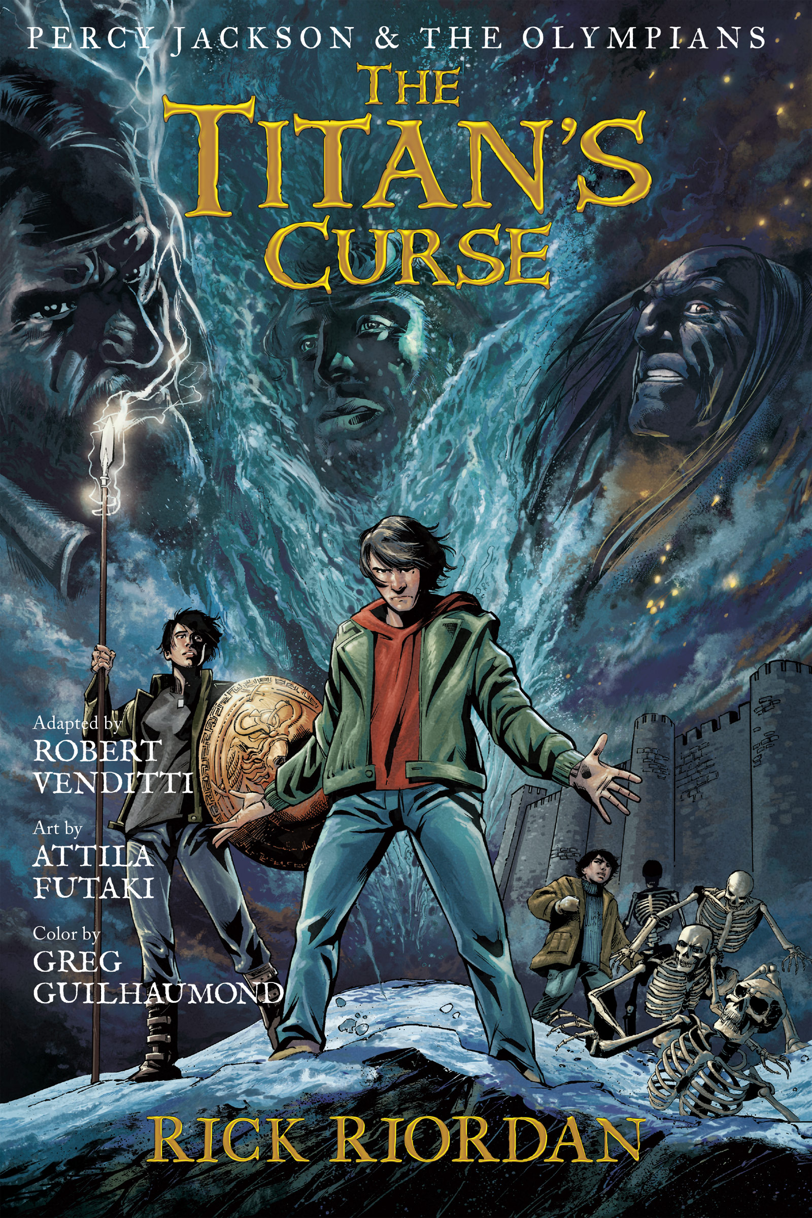 Cover Image of Percy Jackson and the Olympians:  The Titan's Curse: The Graphic Novel