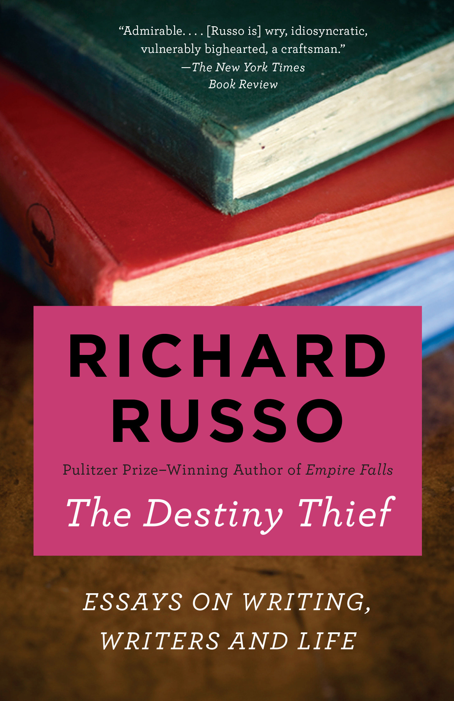 The destiny thief essays on writing, writers, and life cover image