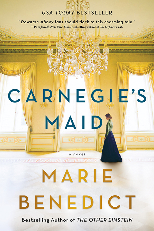 Cover Image of Carnegie's Maid