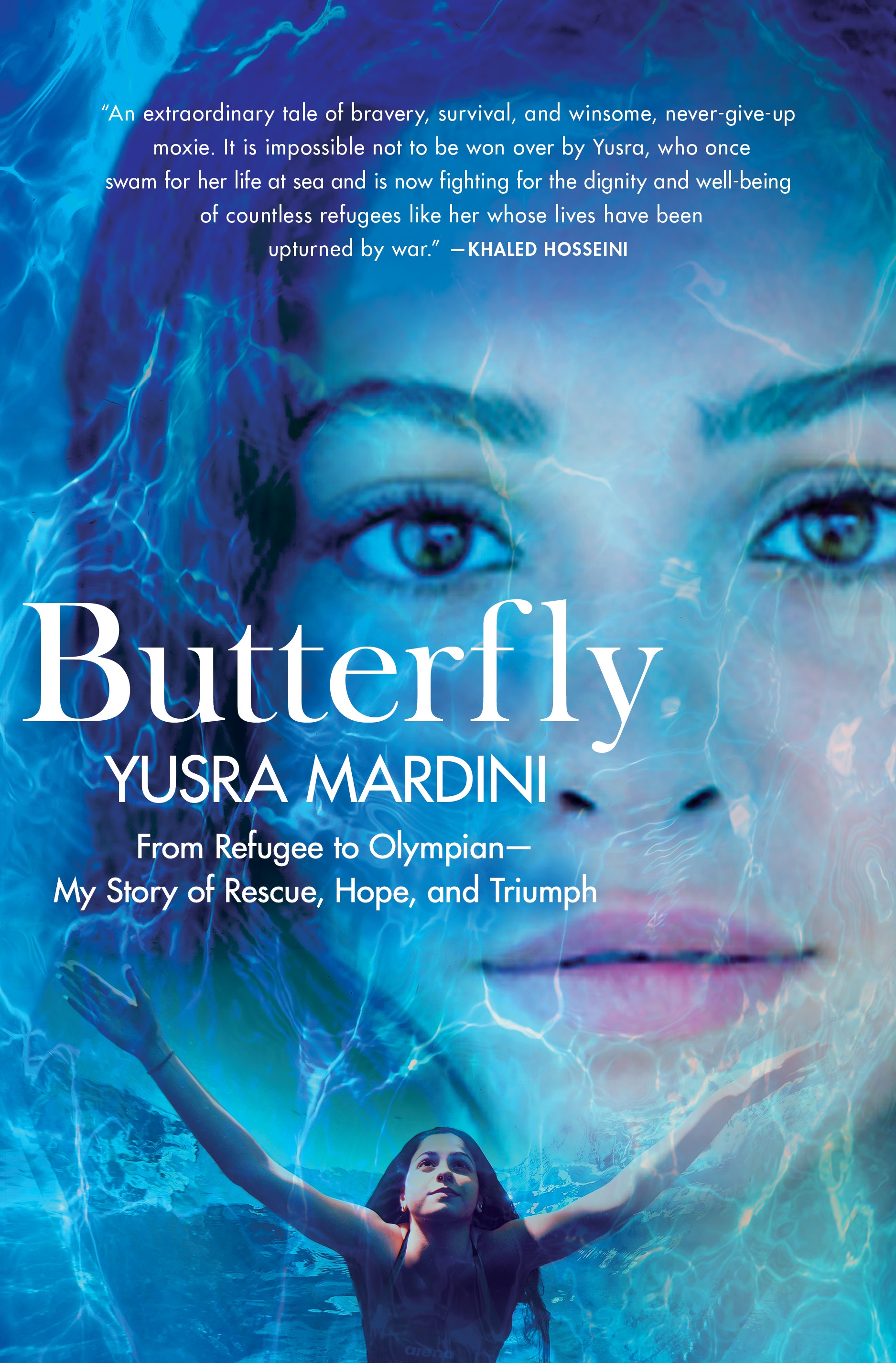 Butterfly From Refugee to Olympian - My Story of Rescue, Hope, and Triumph