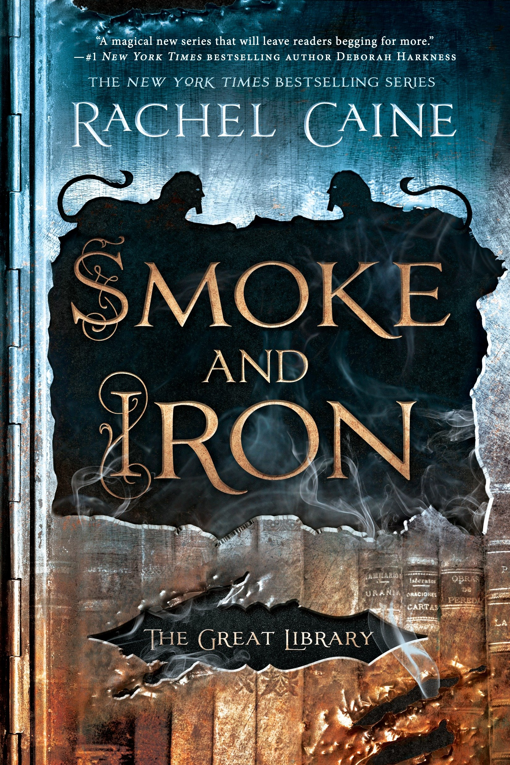Smoke and iron cover image