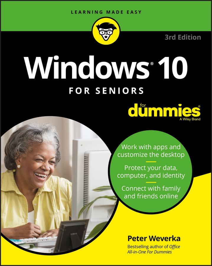 Windows 10 for seniors for dummies cover image