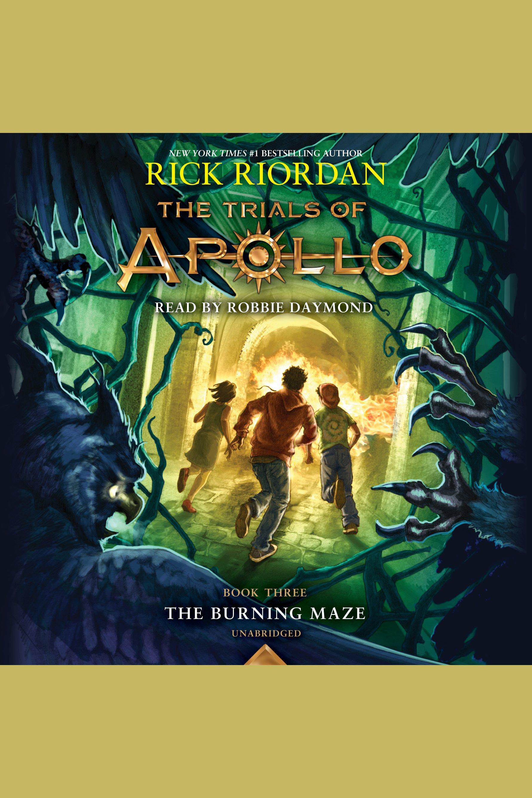 The burning maze cover image