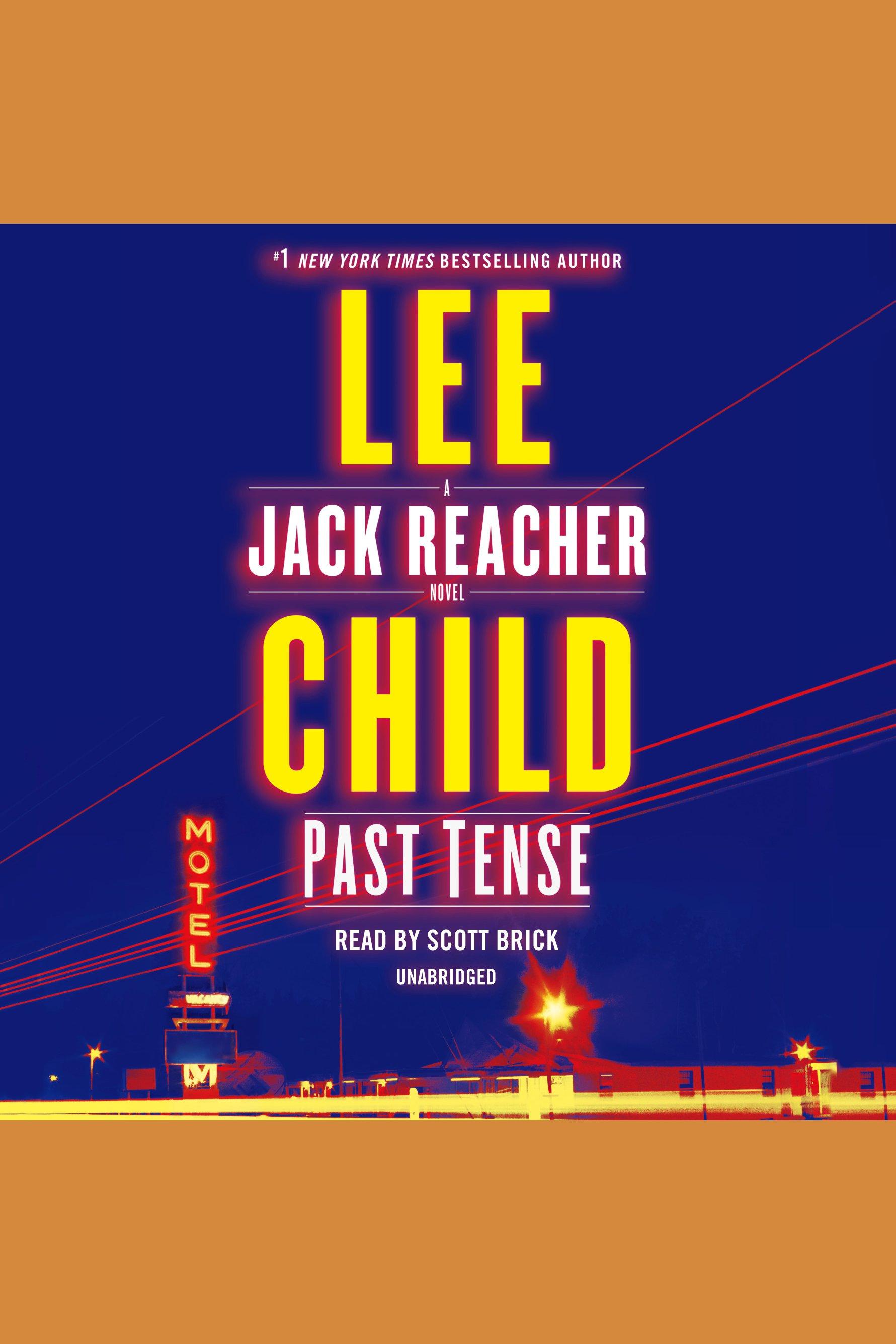 Past tense a Jack Reacher novel cover image