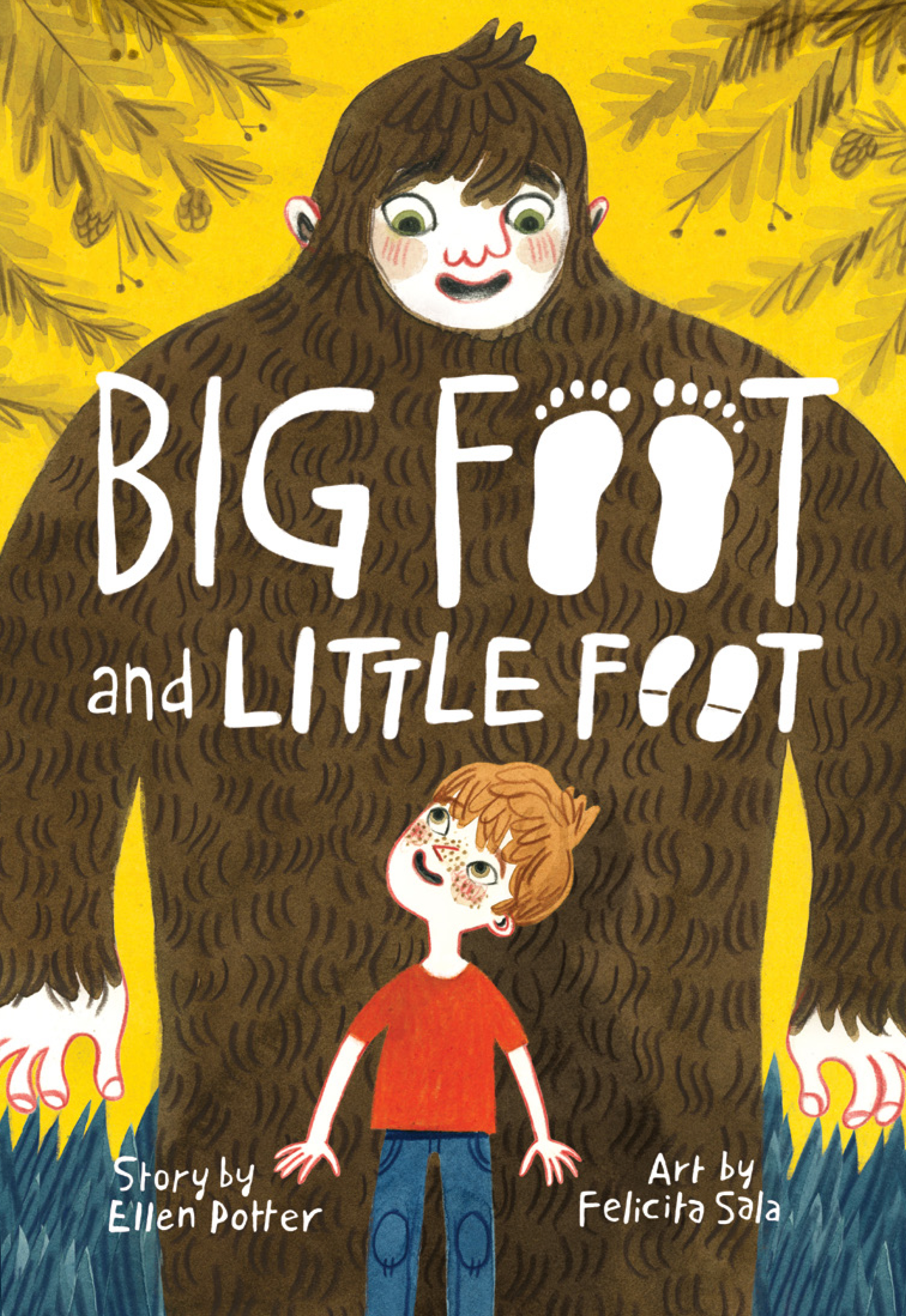 Cover Image of Big Foot and Little Foot (Book #1)