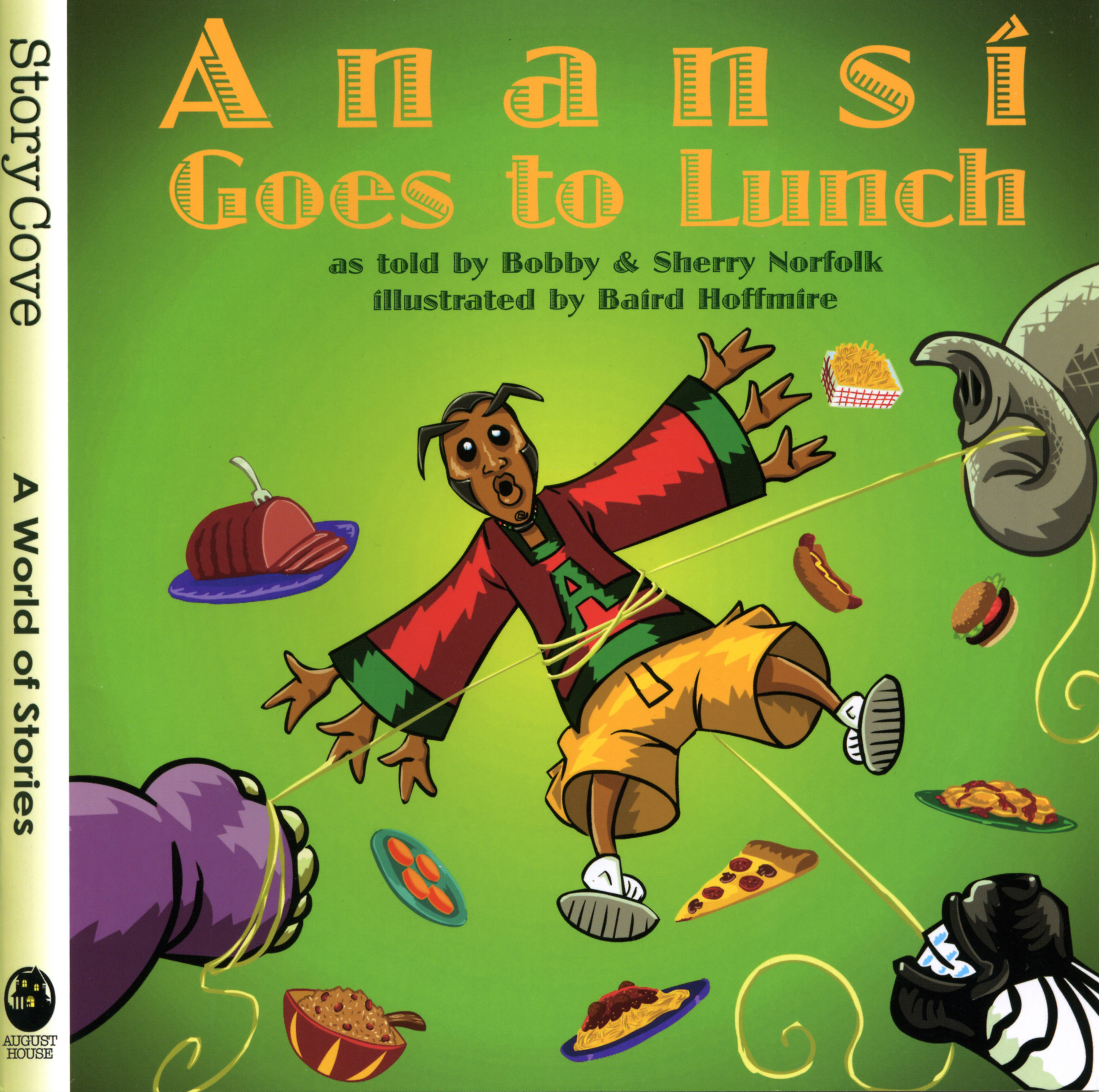 Anansi Goes to Lunch [electronic resource] : Read-Along