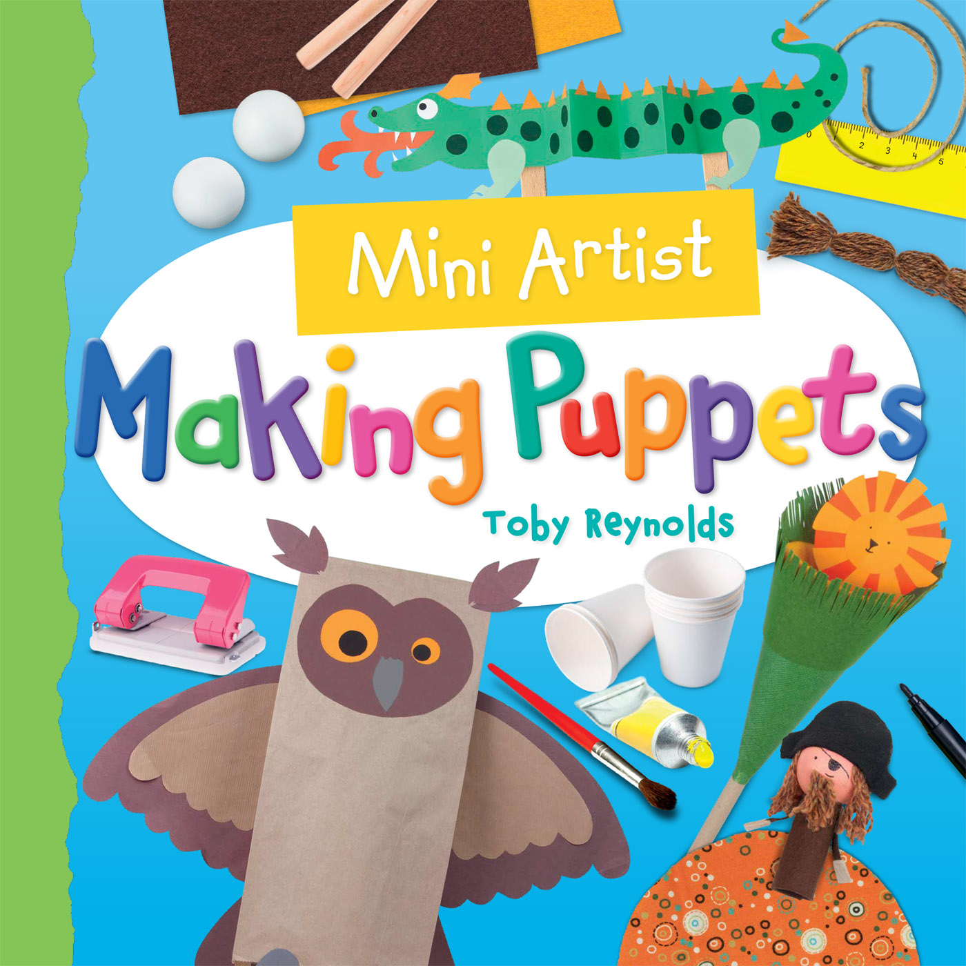 Cover Image of Making Puppets