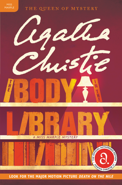 The body in the library cover image