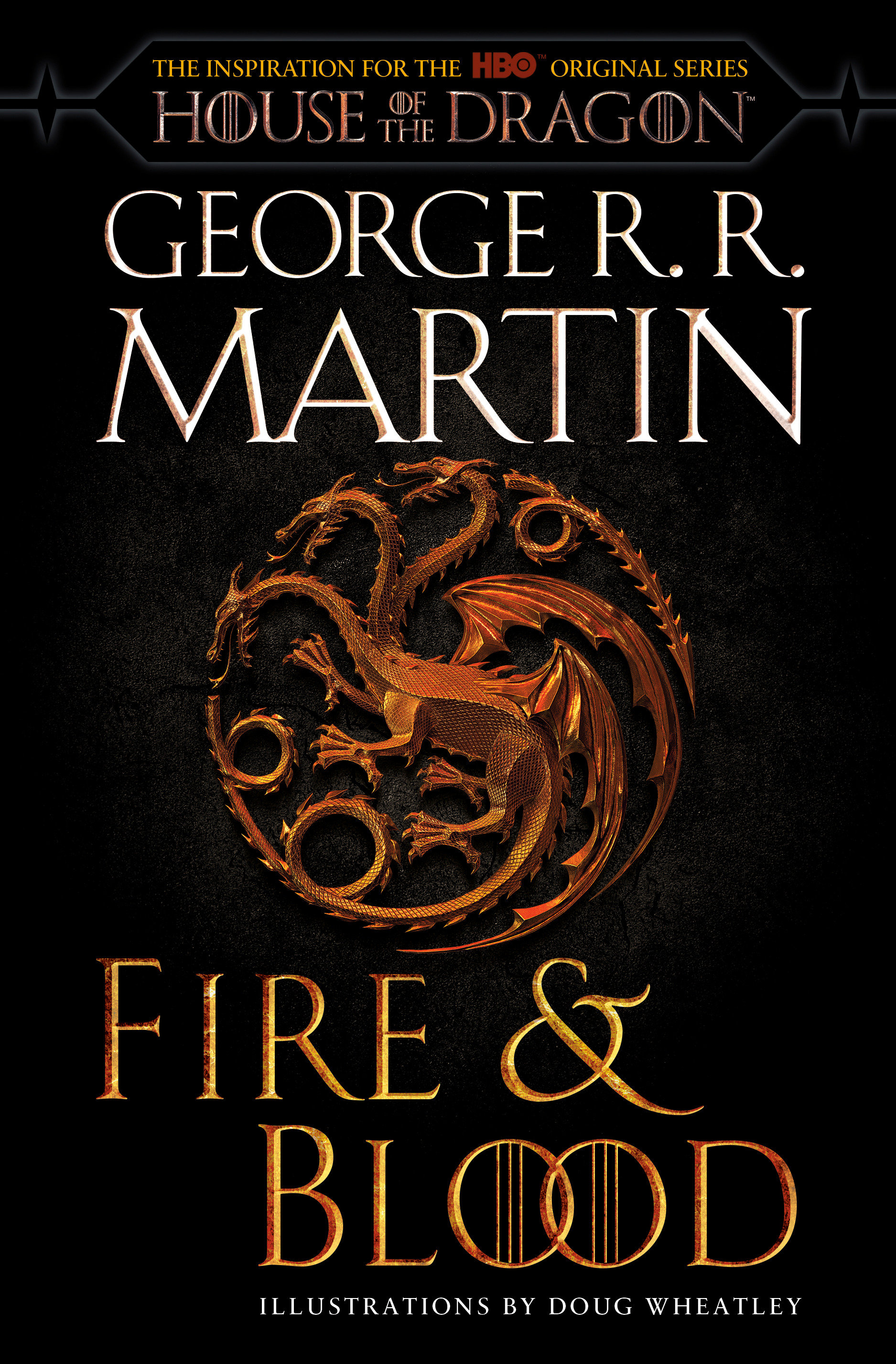 Cover Image of Fire & Blood