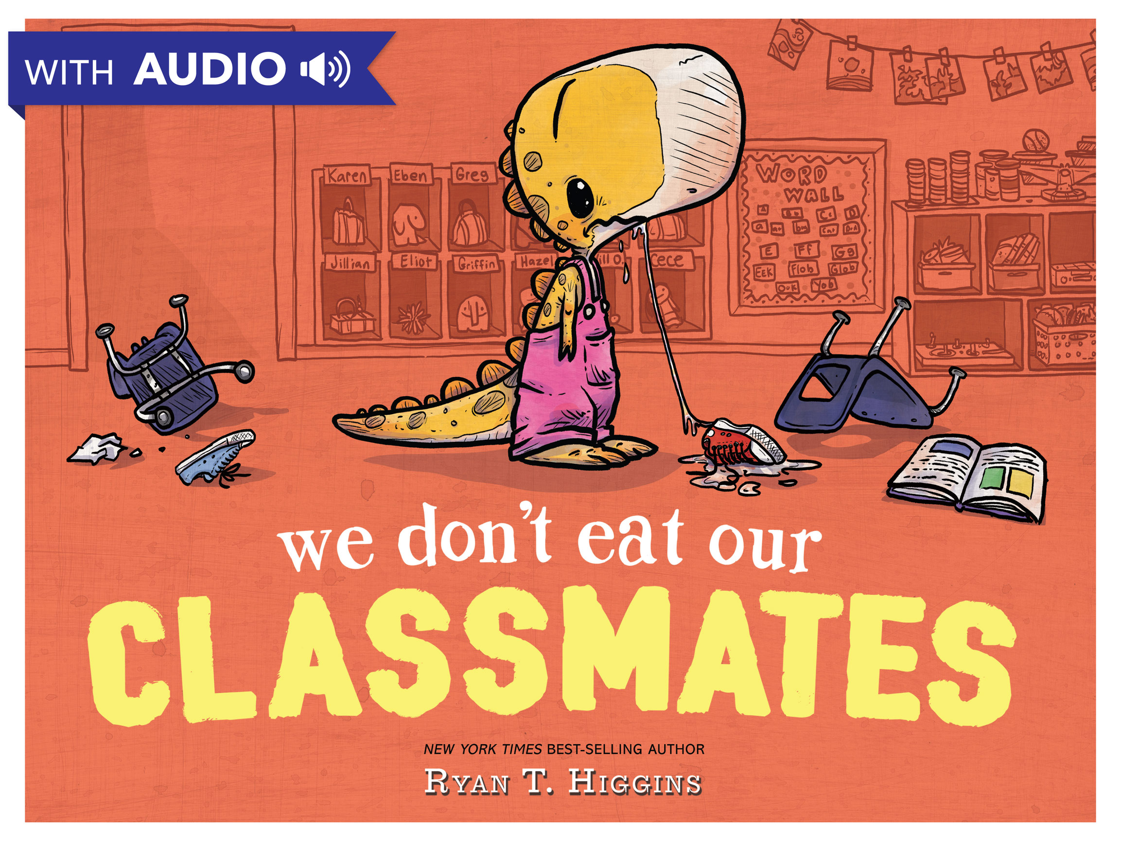 We Don't Eat Our Classmates A Disney Hyperion E-book With Audio