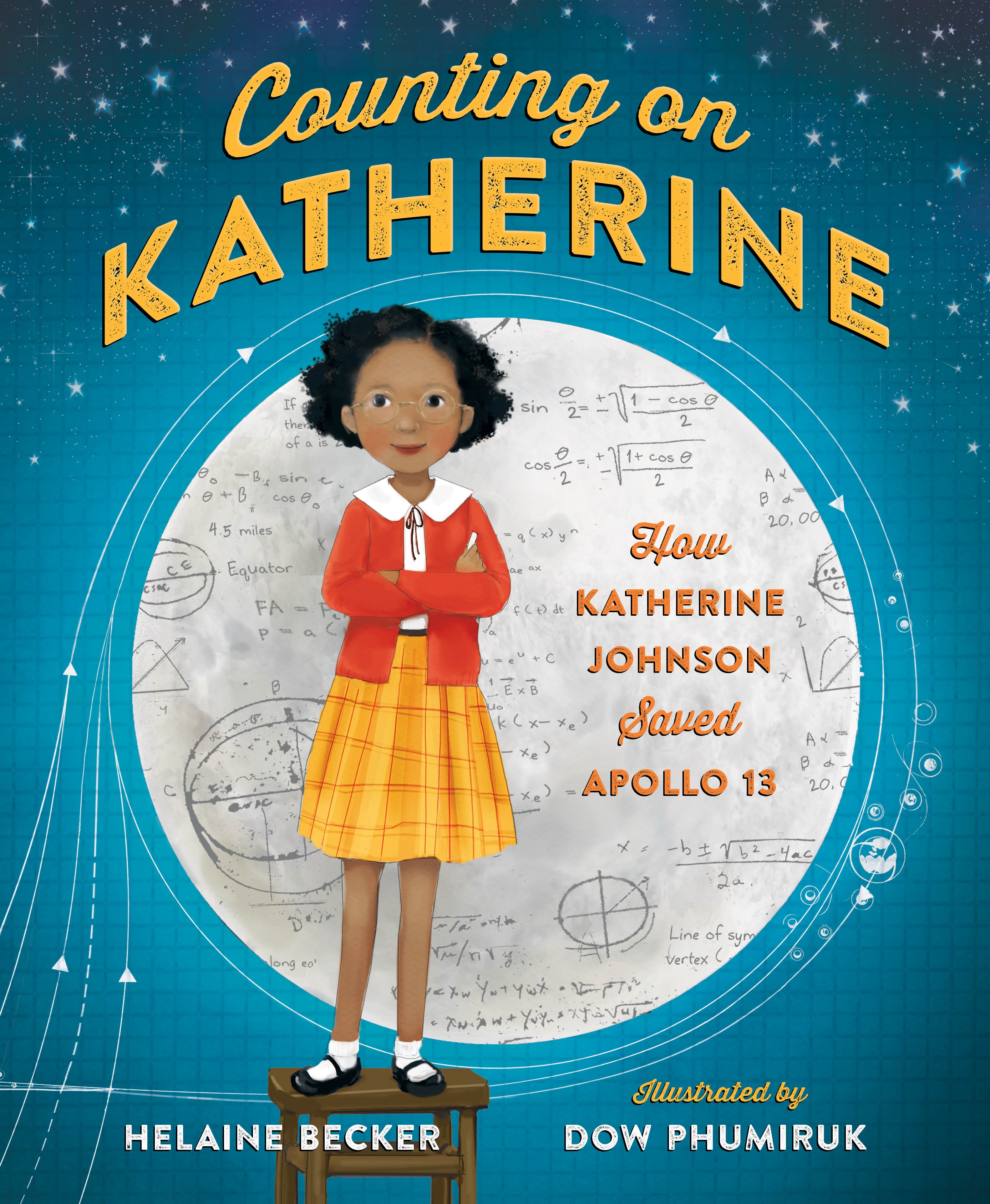 Cover Image of Counting on Katherine: How Katherine Johnson Saved Apollo 13