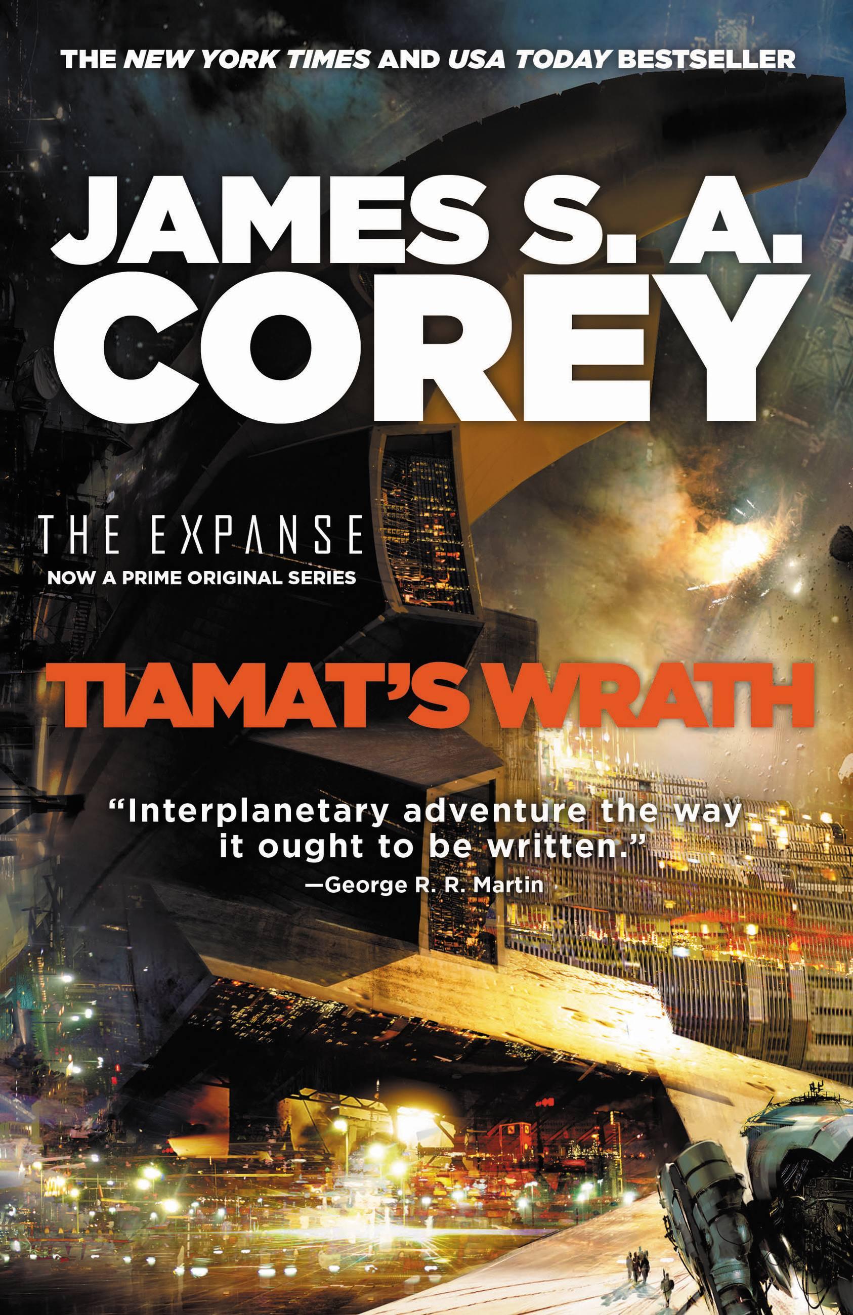 Cover Image of Tiamat's Wrath