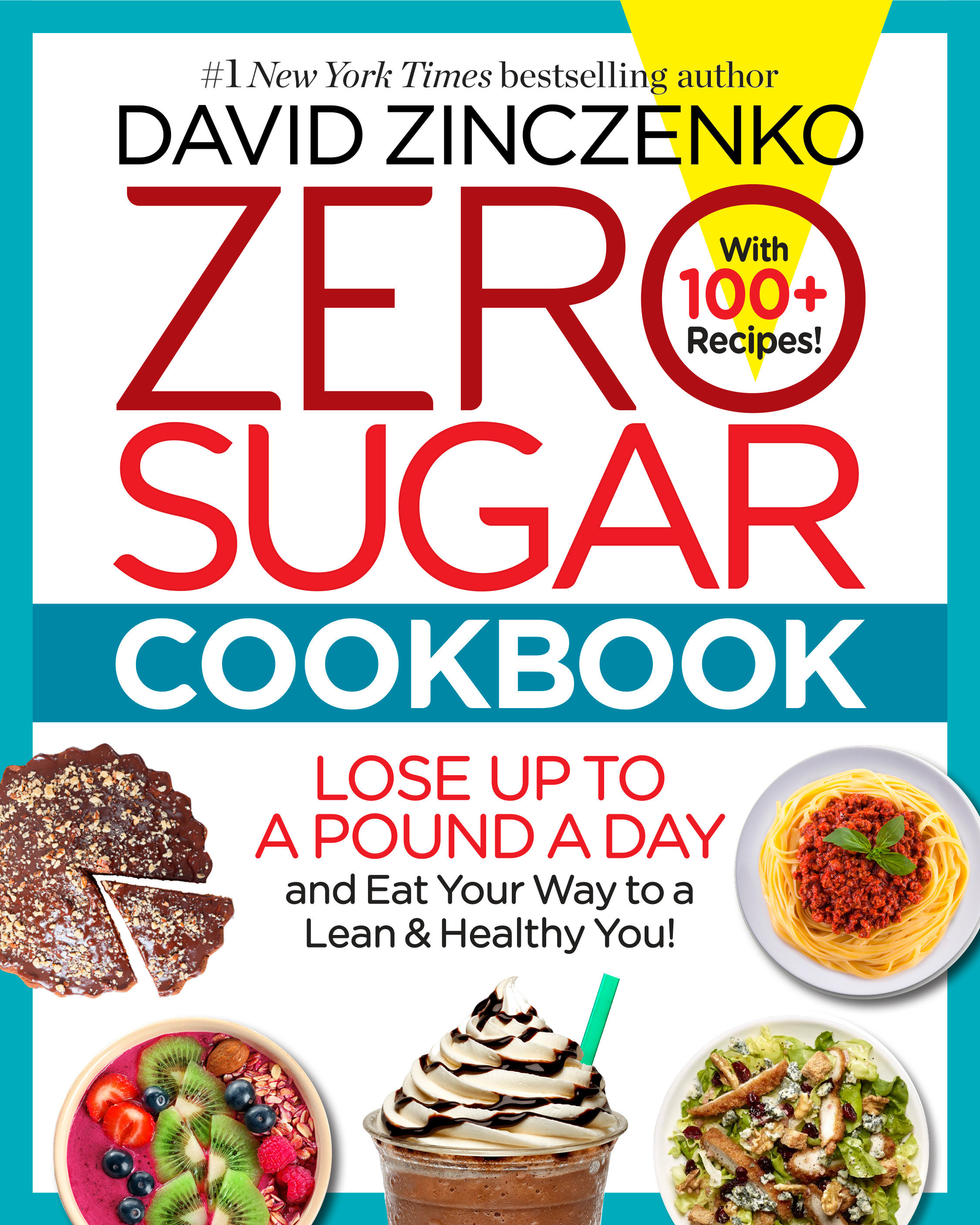 Zero sugar cookbook cover image