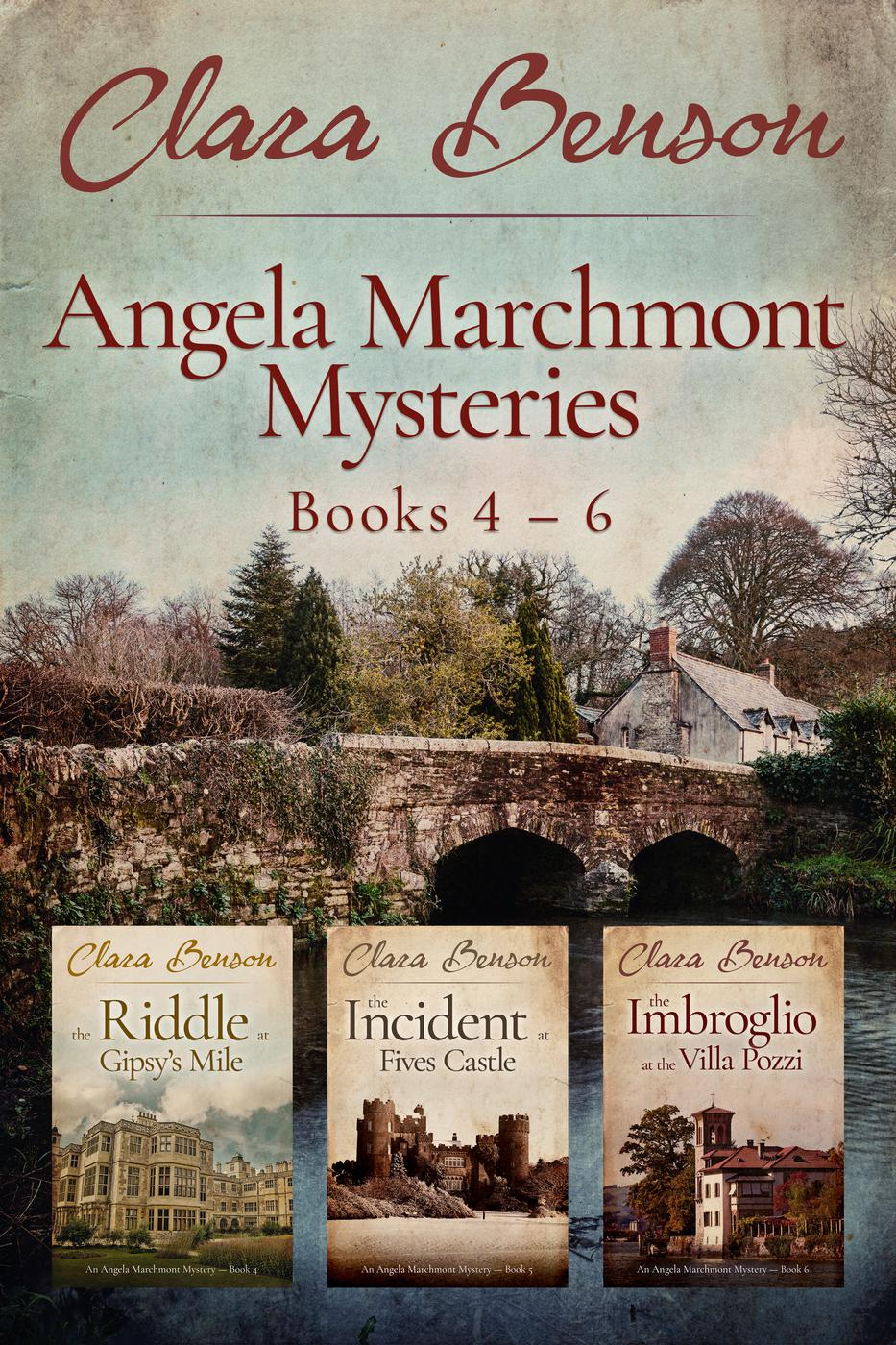 Angela Marchmont Mysteries Books 4-6 (An Angela Marchmont mystery) [electronic resource]