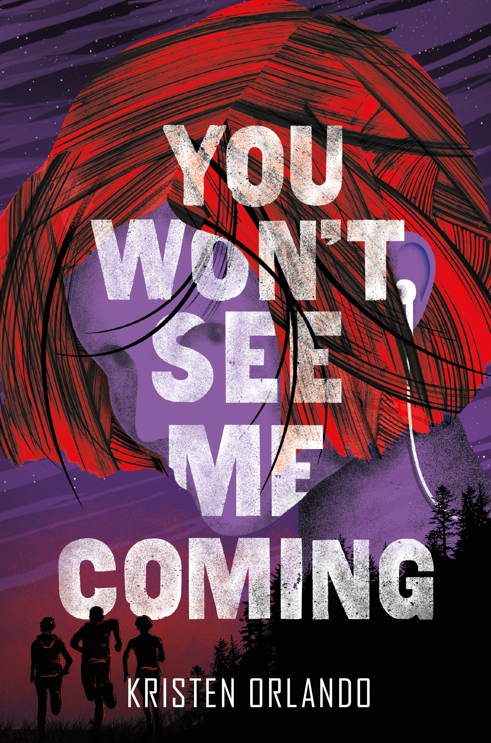 You won't see me coming cover image