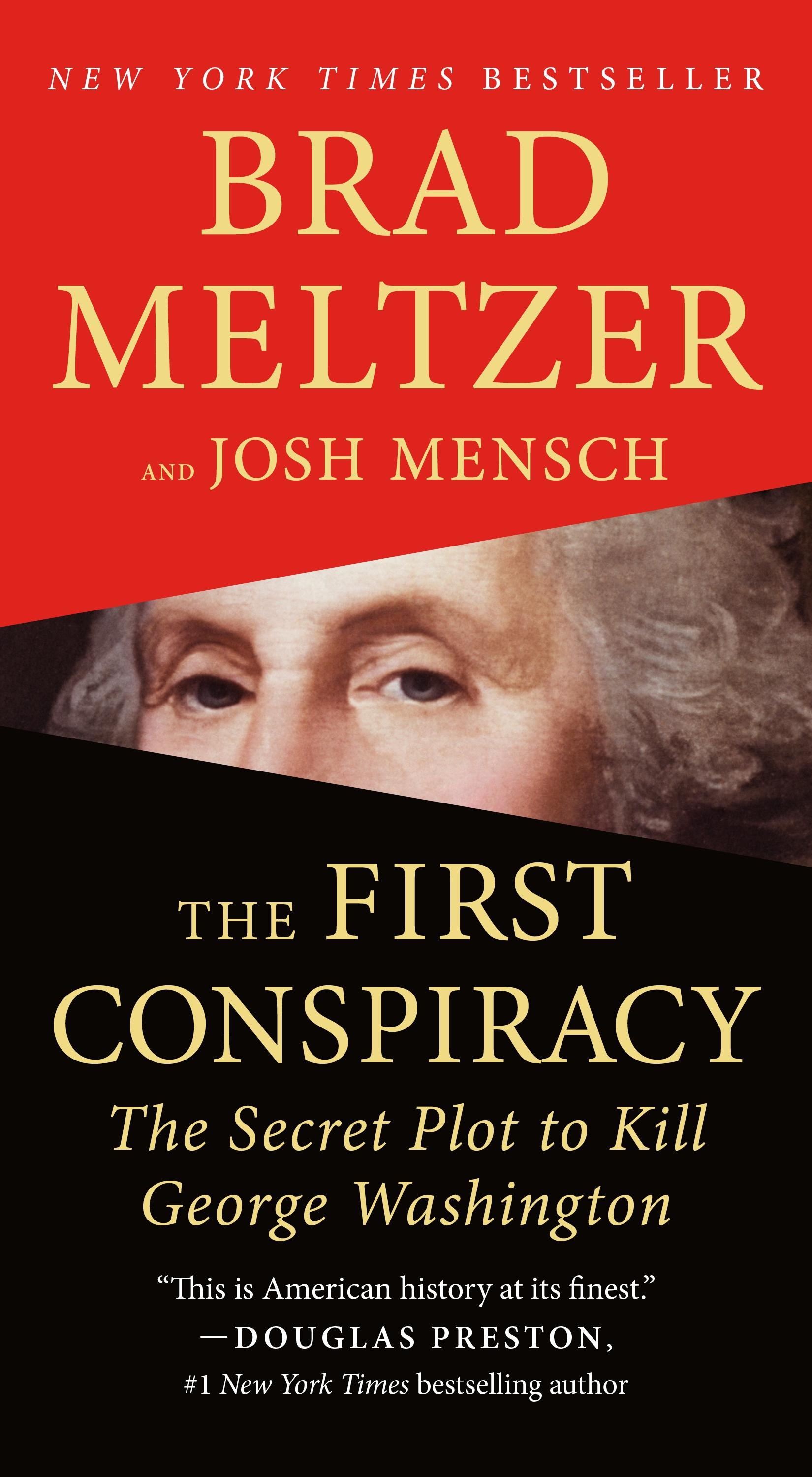 The first conspiracy the secret plot to kill George Washington cover image