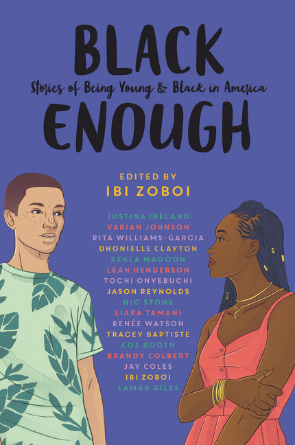 Black enough stories of being young & black in America cover image