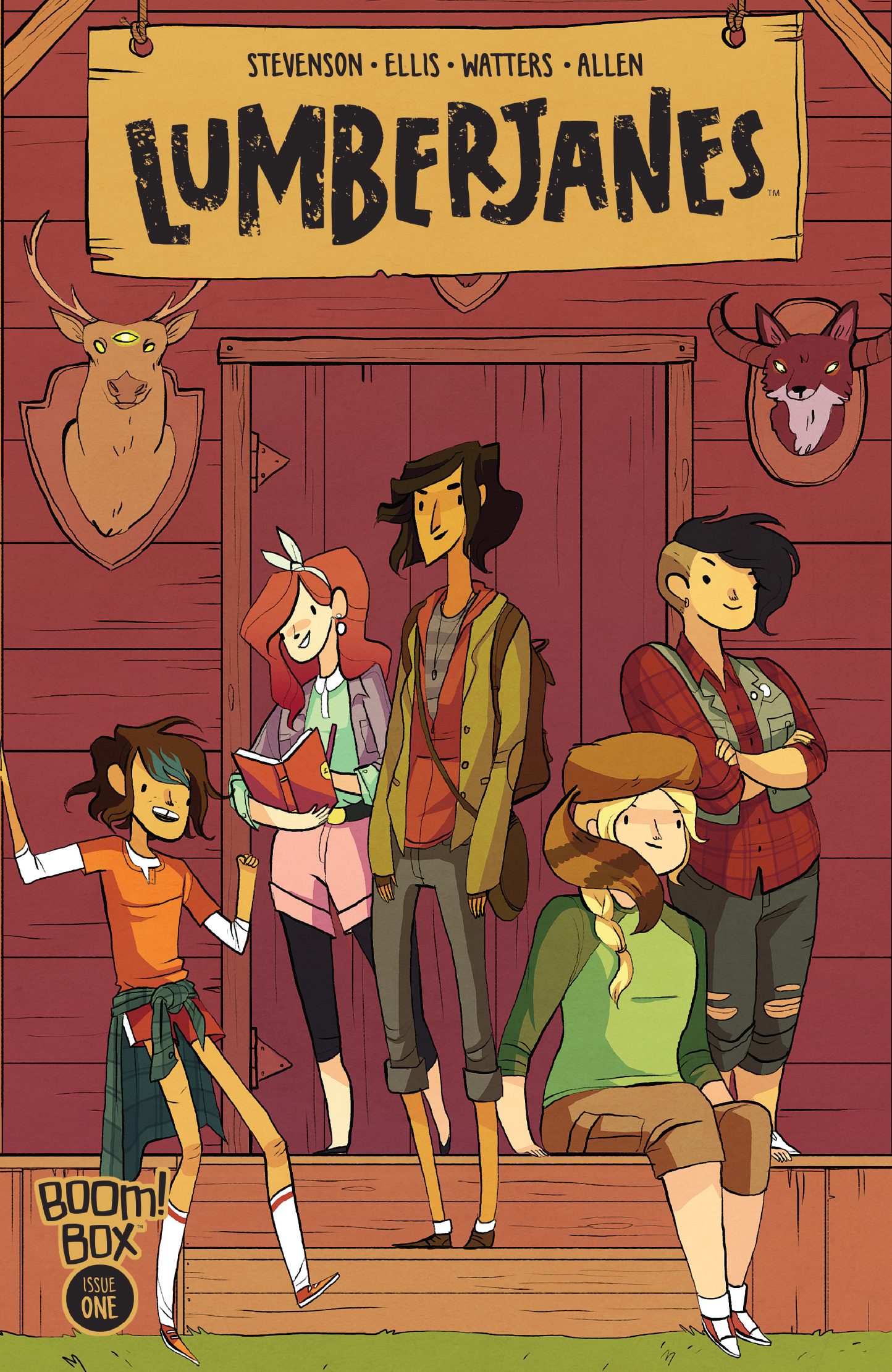 Cover Image of Lumberjanes #1
