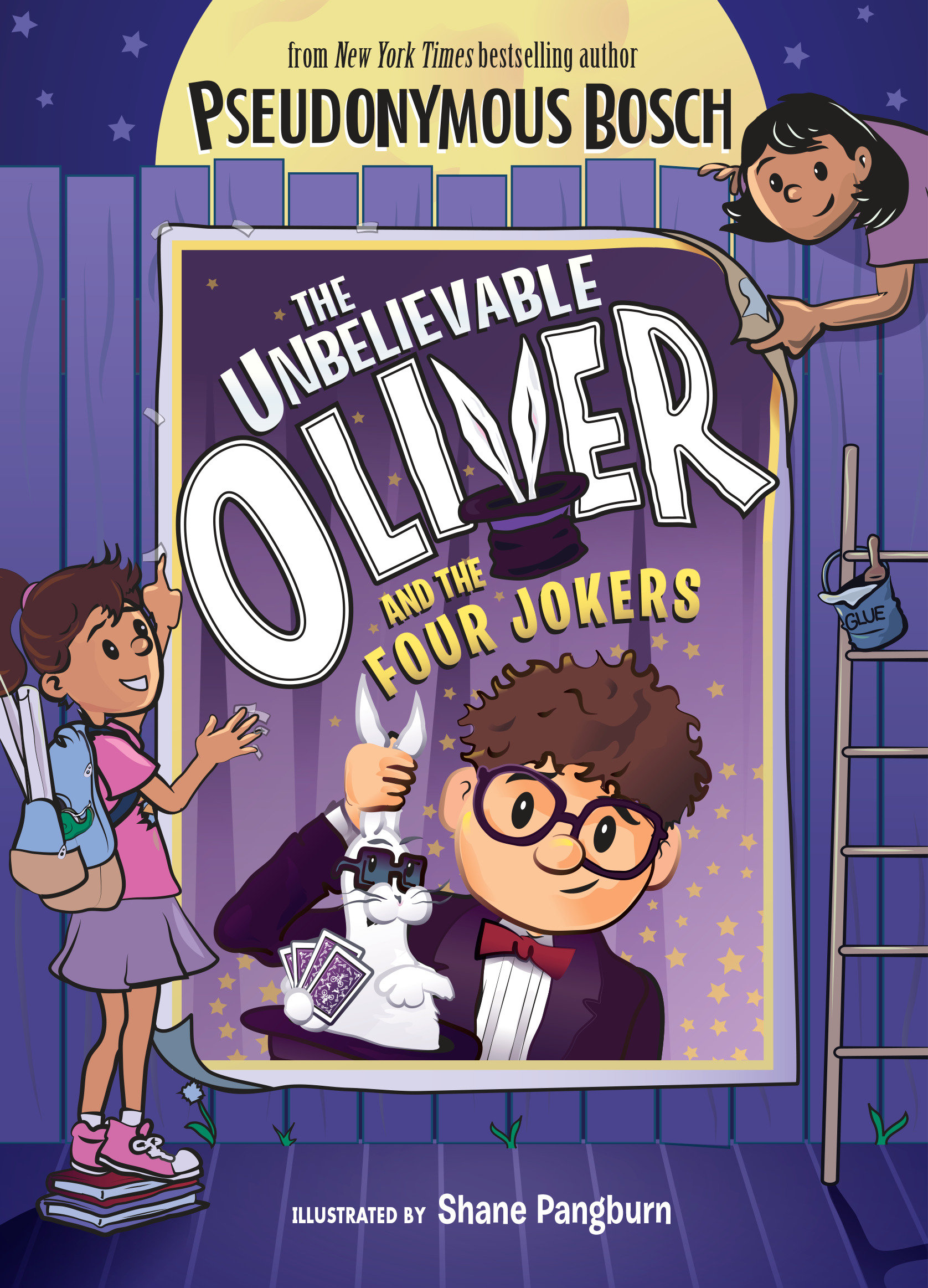 The Unbelievable Oliver and the Four Jokers cover image