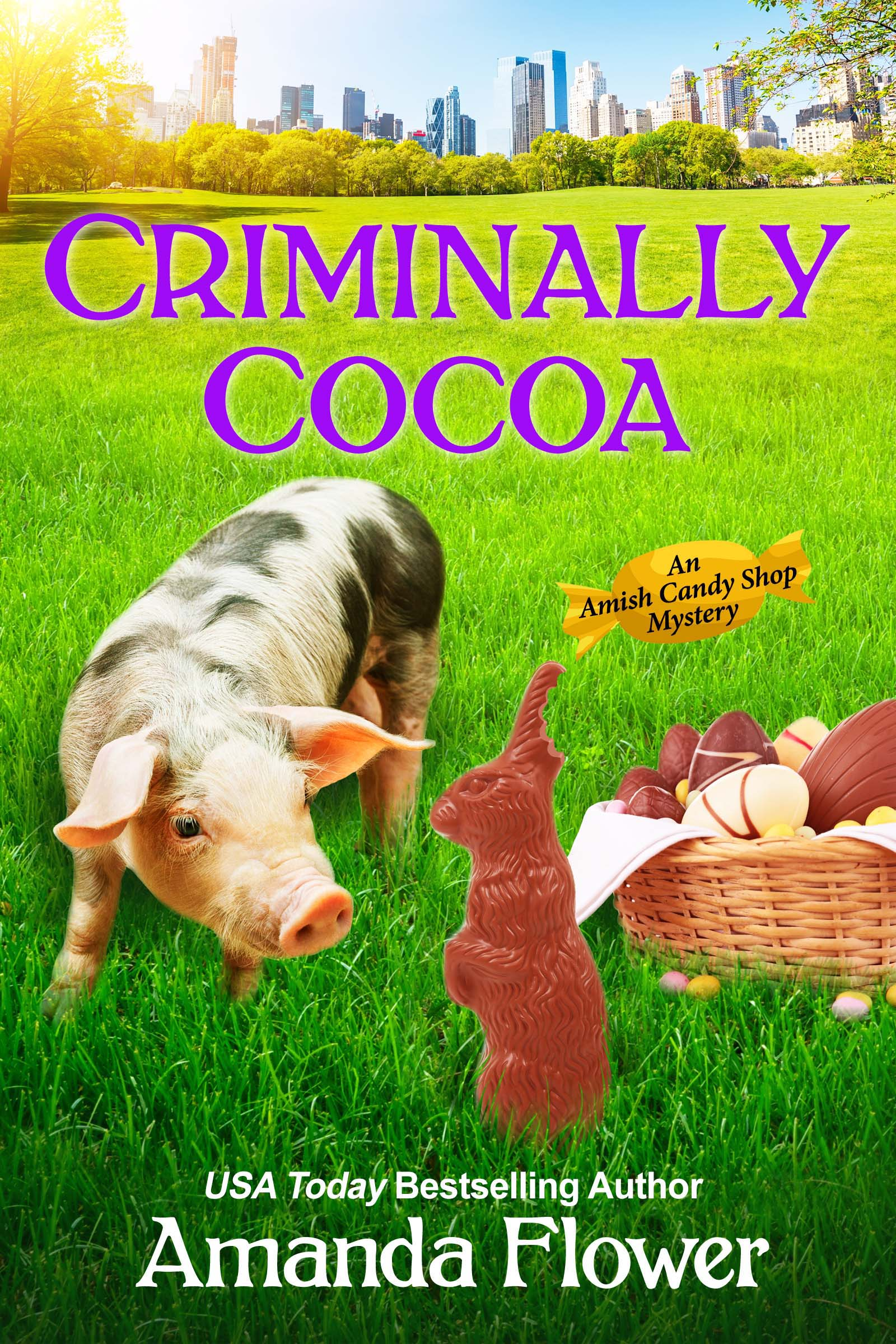 Criminally cocoa cover image