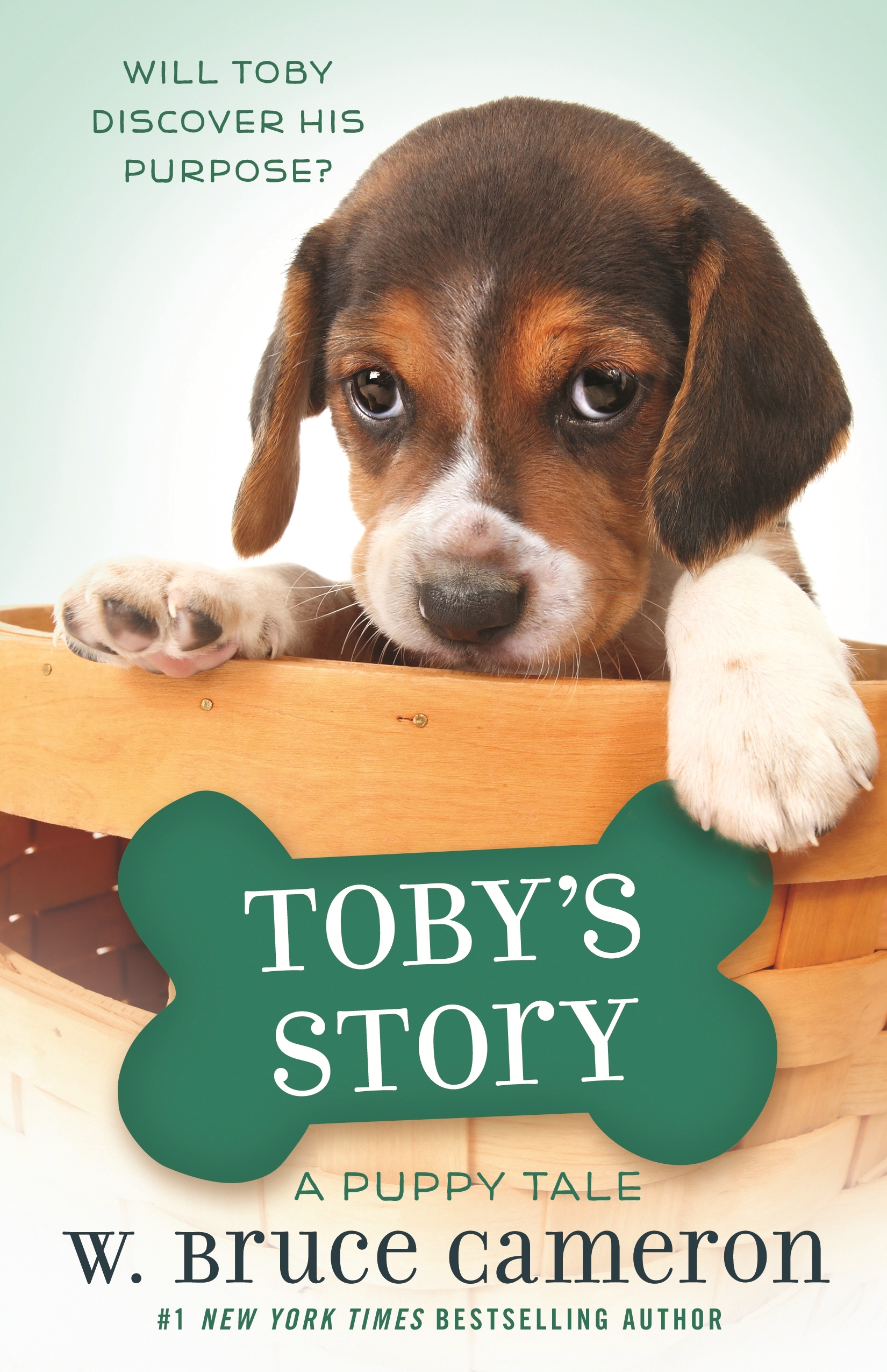 Toby's story a dog's purpose novel cover image