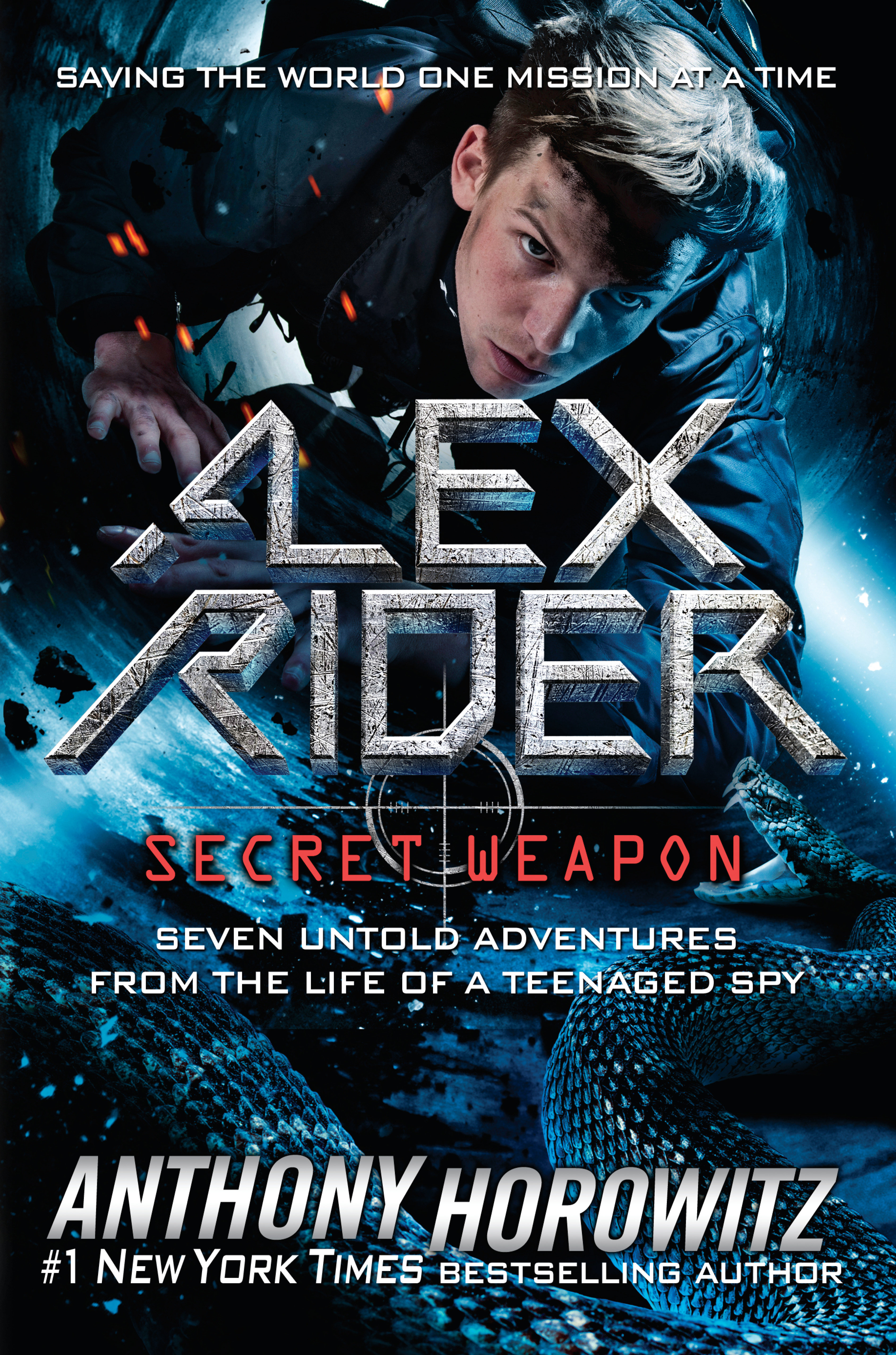 Alex Rider, secret weapon seven untold adventures from the life of a teenaged spy cover image