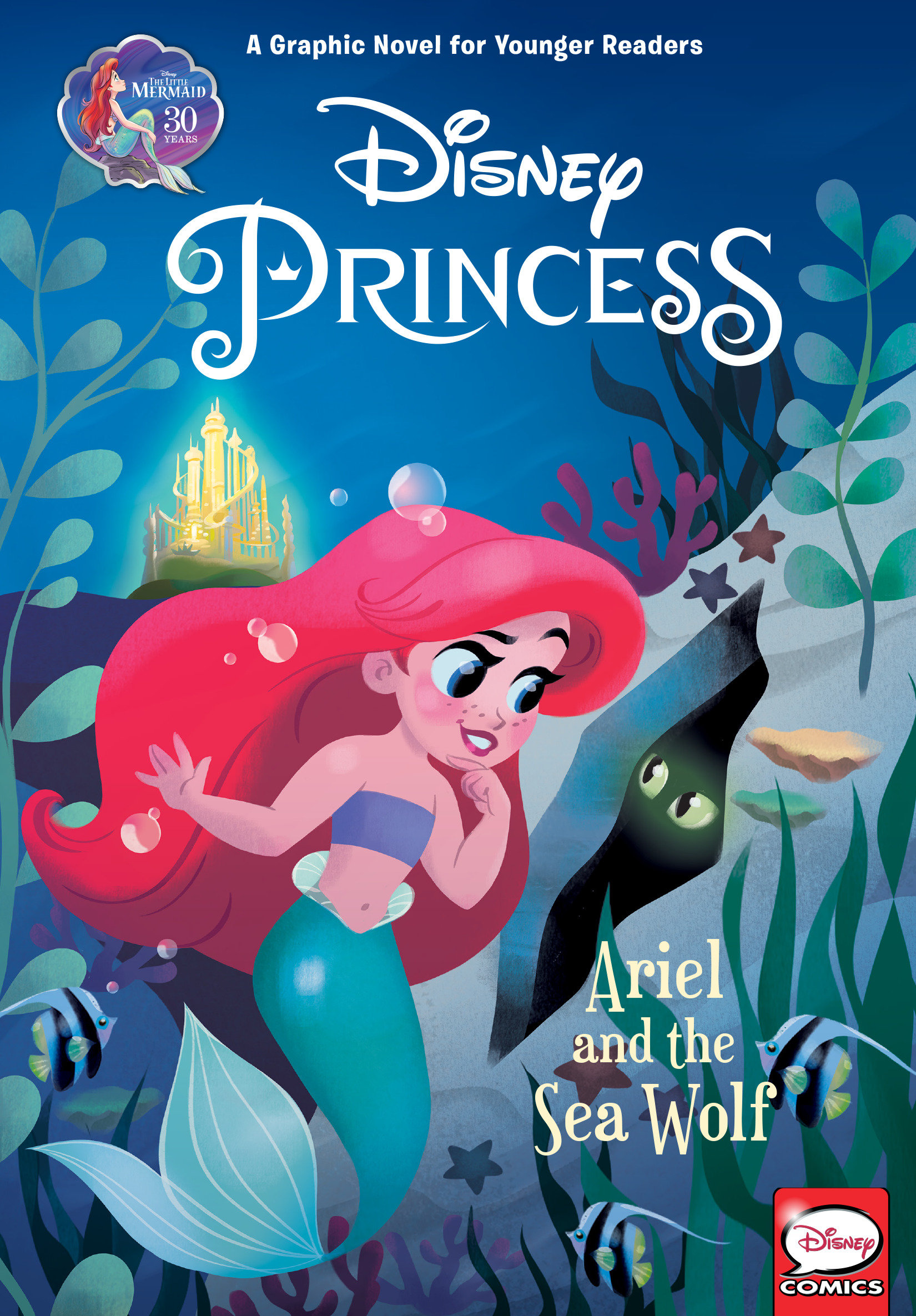 Disney Princess [electronic resource (downloadable eBook)] : Ariel and the Sea Wolf