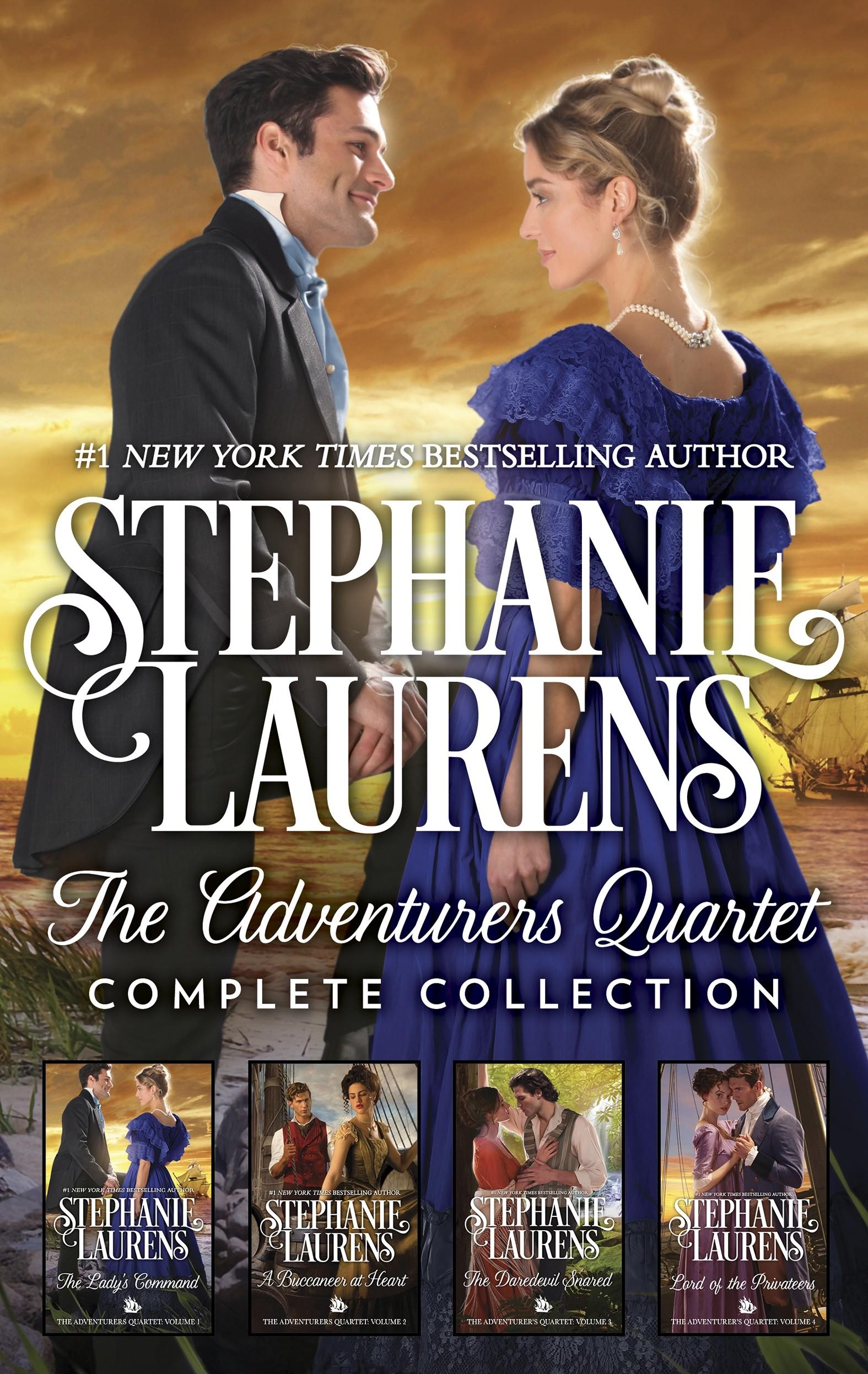 The Adventurers Quartet Complete Collection A Regency Romance