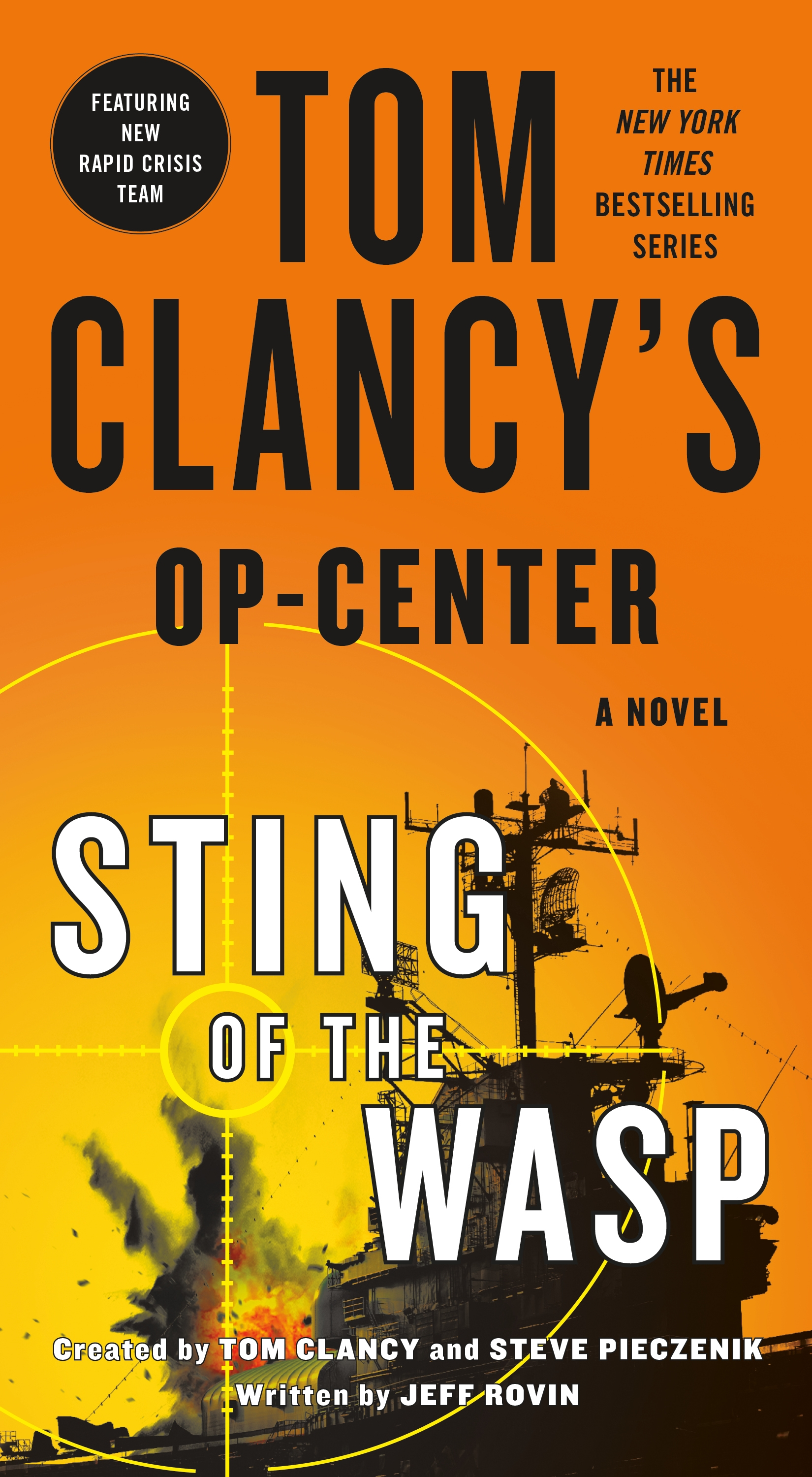 Tom Clancy's Op-Center Sting of the wasp cover image
