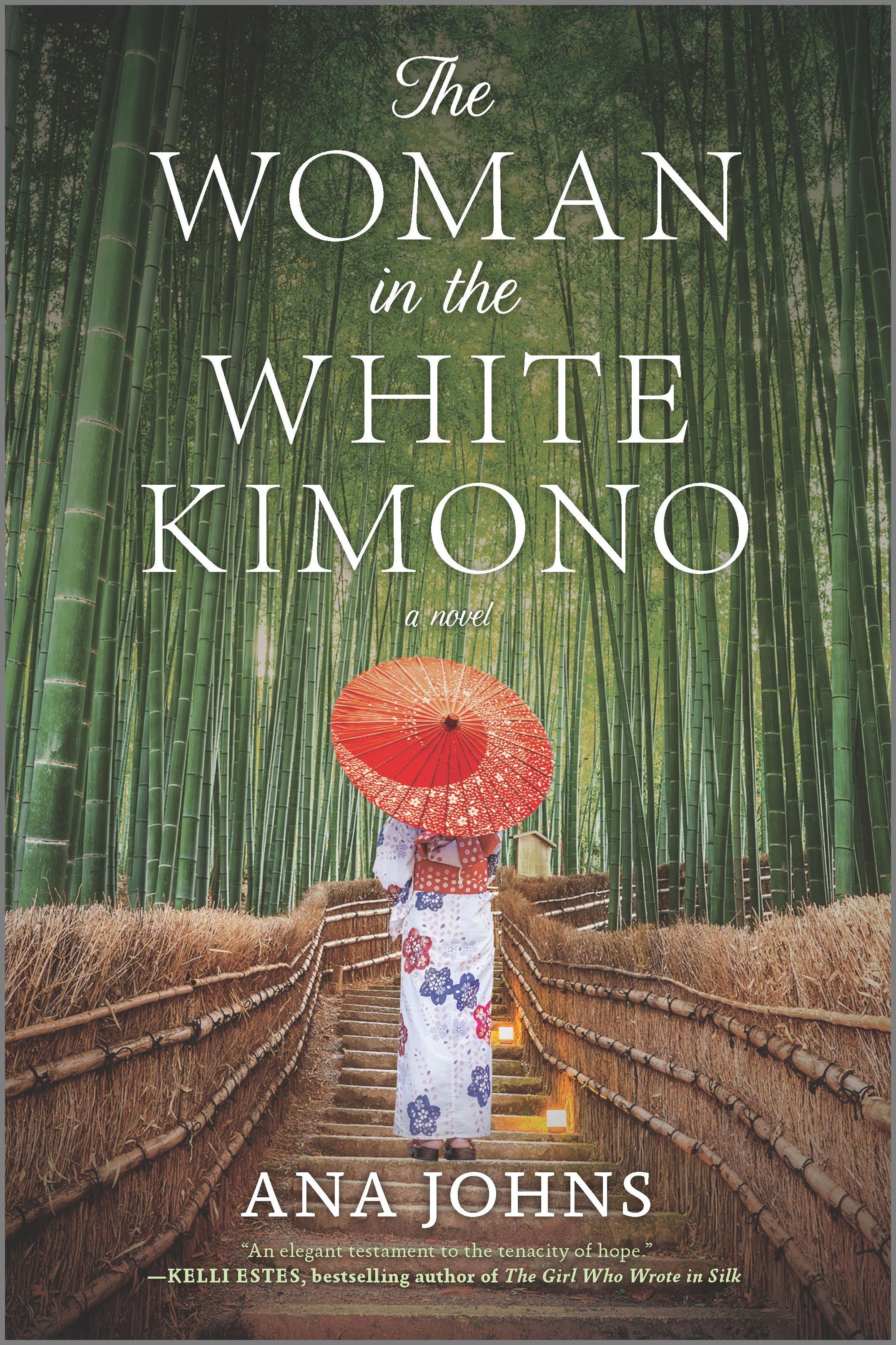 Cover Image of The Woman in the White Kimono