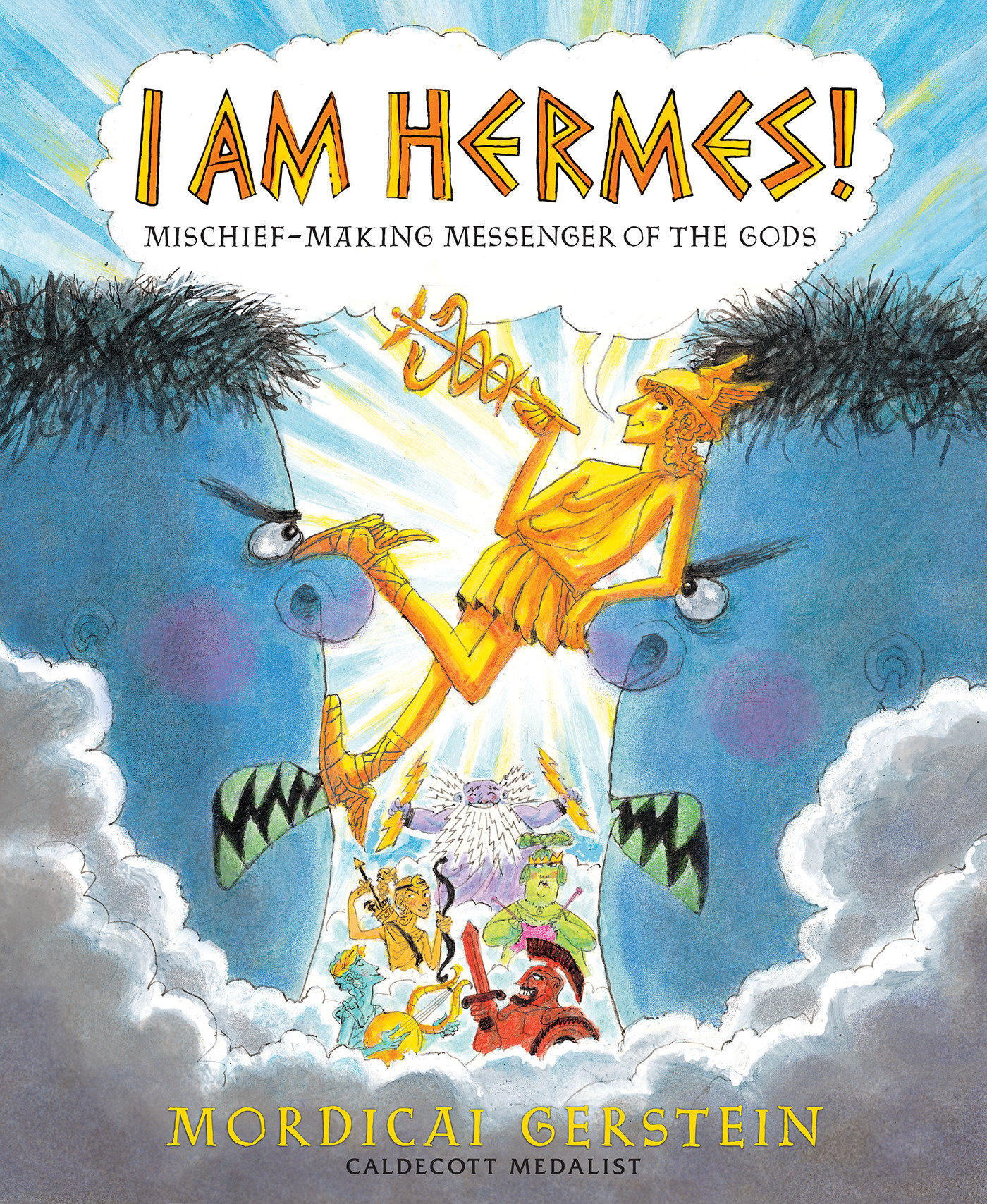 I am Hermes! mischief-making messenger of the gods cover image