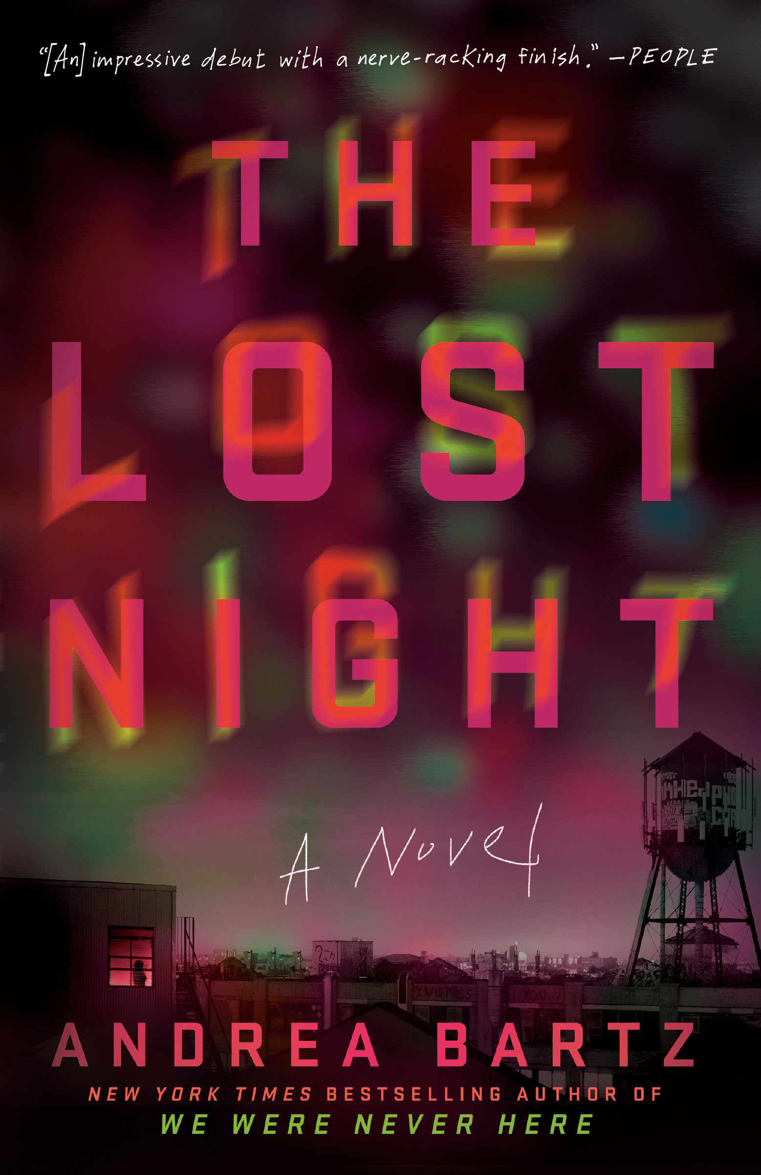 The lost night cover image