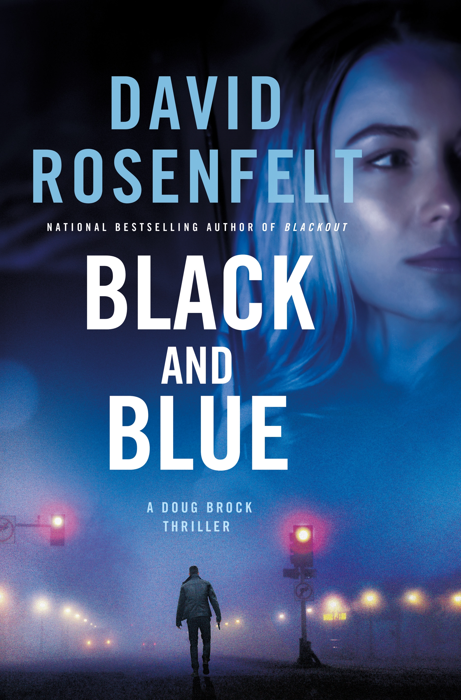 Black and blue a Doug Brock thriller cover image
