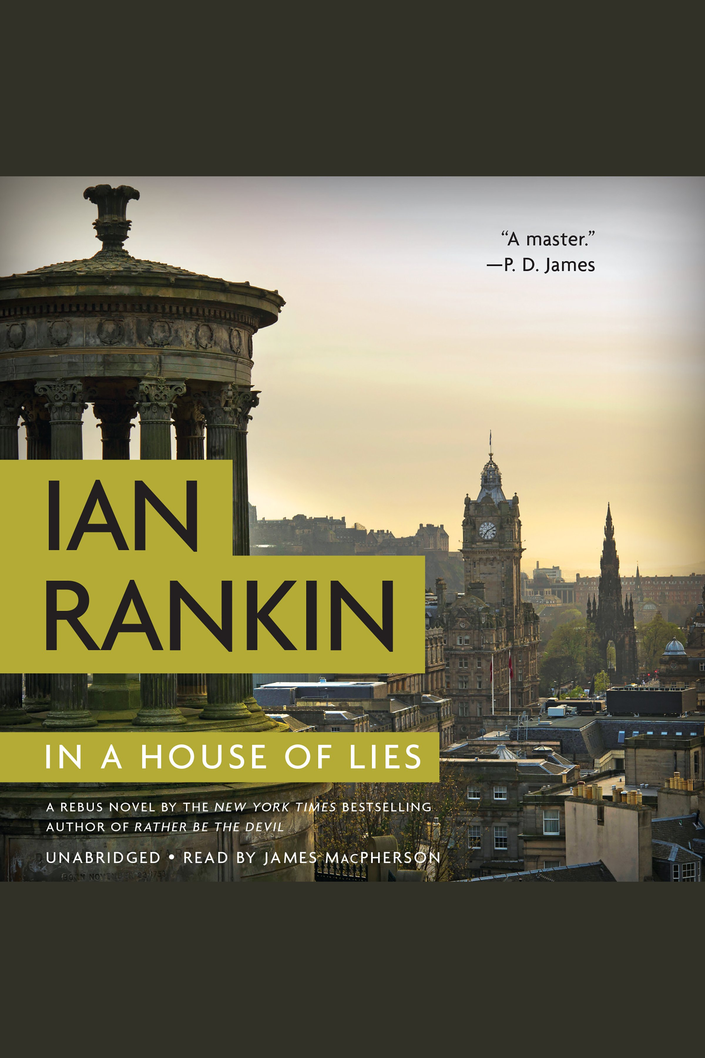 In a house of lies cover image