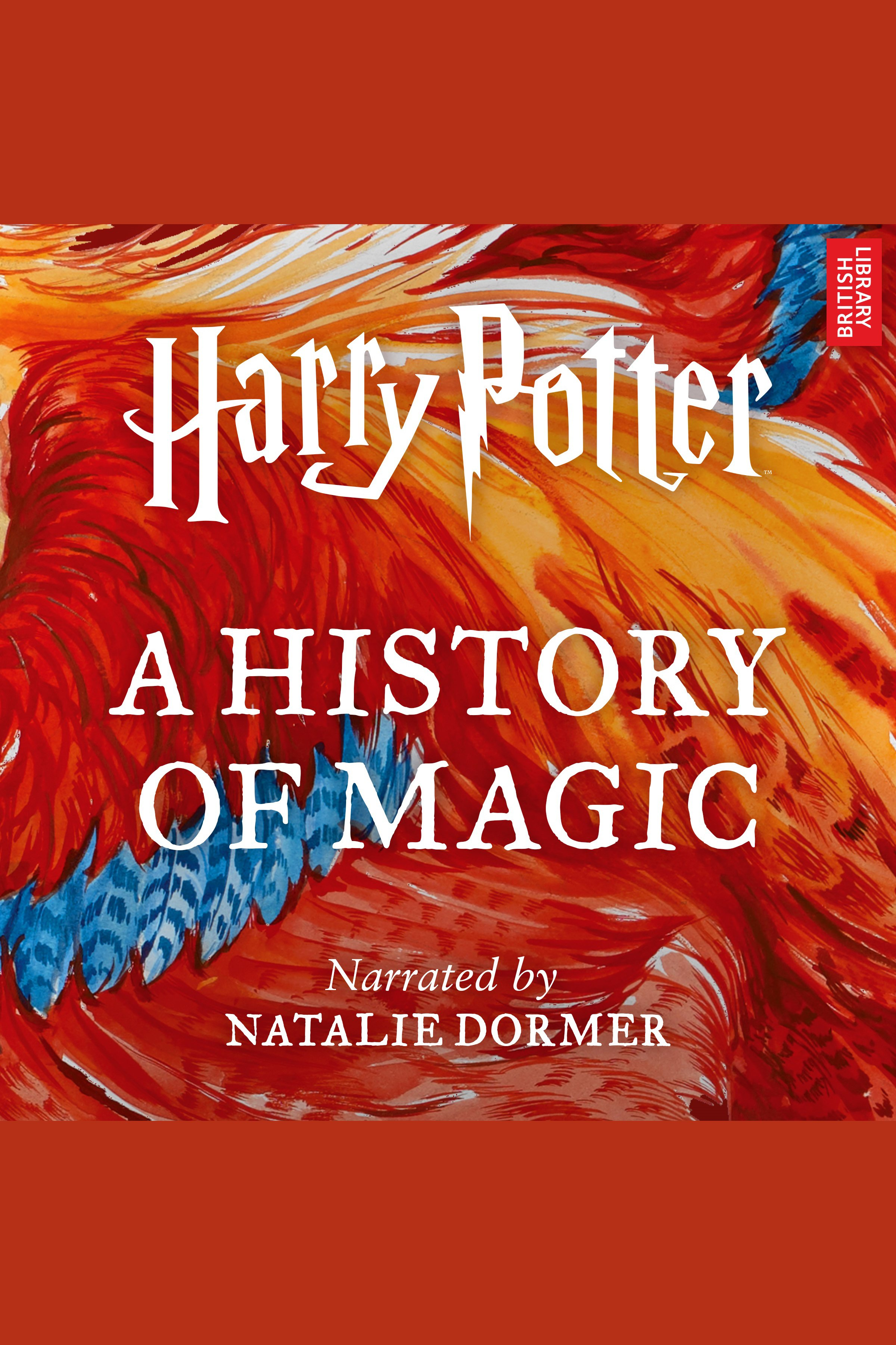 Harry Potter a history of magic cover image
