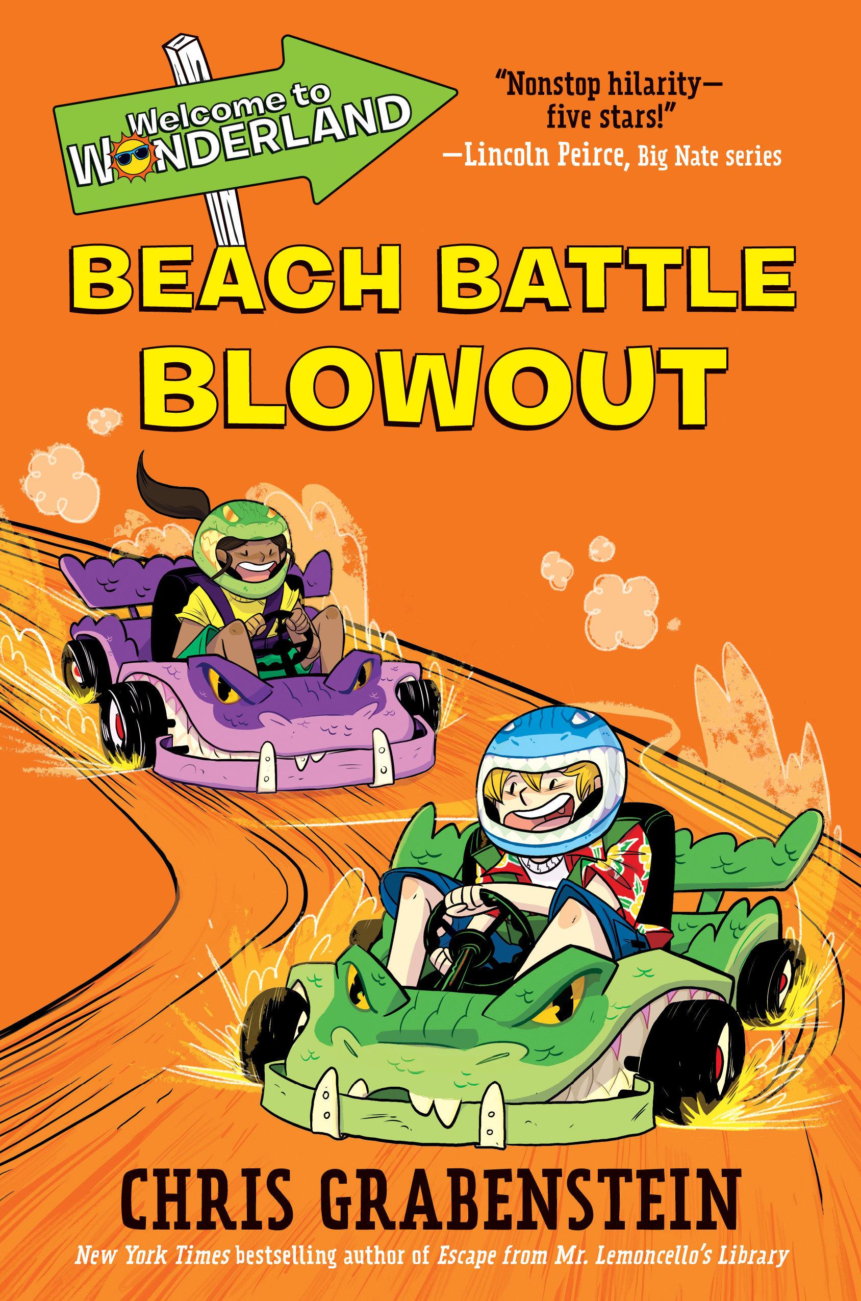 Beach battle blowout. Book 4 cover image