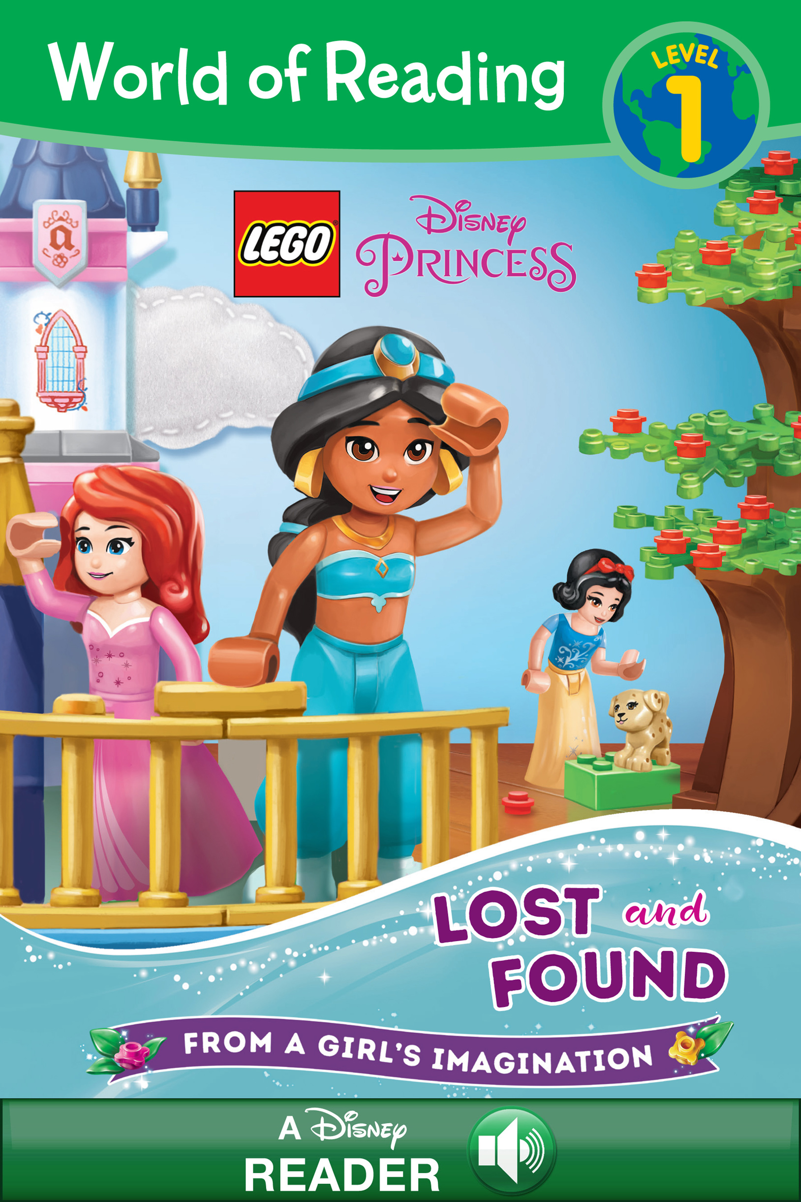 Cover image for World of Reading: LEGO Disney Princess: Lost and Found [electronic resource] : Level 1